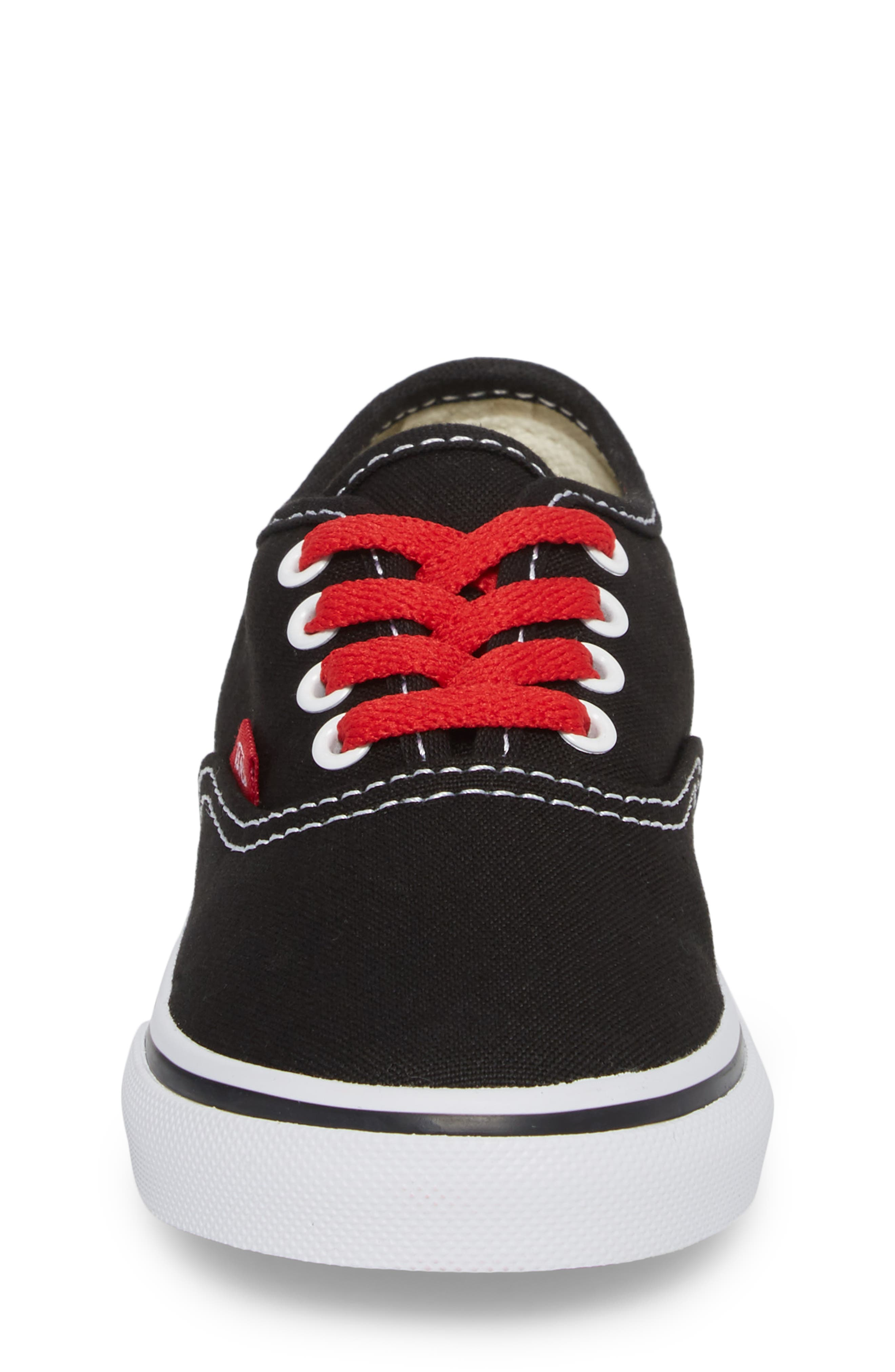 Authentic Sketch Sneaker,                             Alternate thumbnail 4, color,                             001