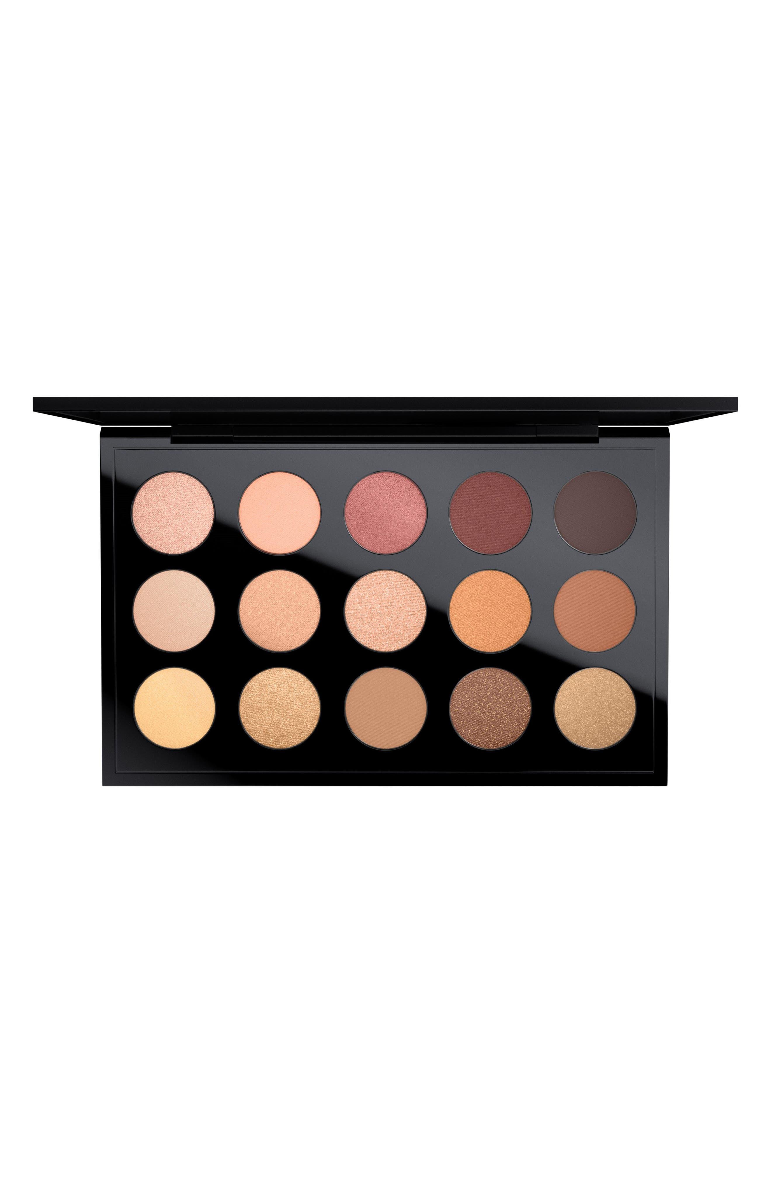 MAC Cool Neutral Times 15 Eyeshadow Palette,                             Main thumbnail 1, color,                             200
