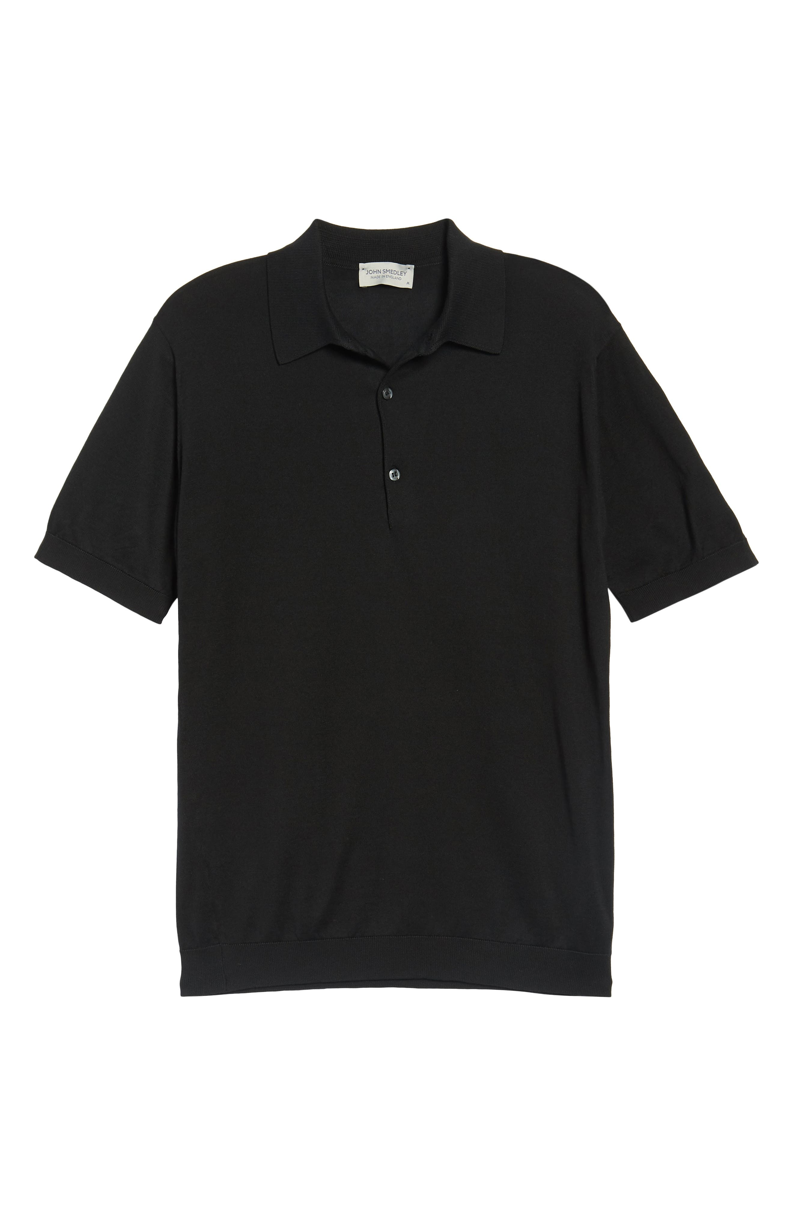 Jersey Polo,                             Alternate thumbnail 6, color,                             001