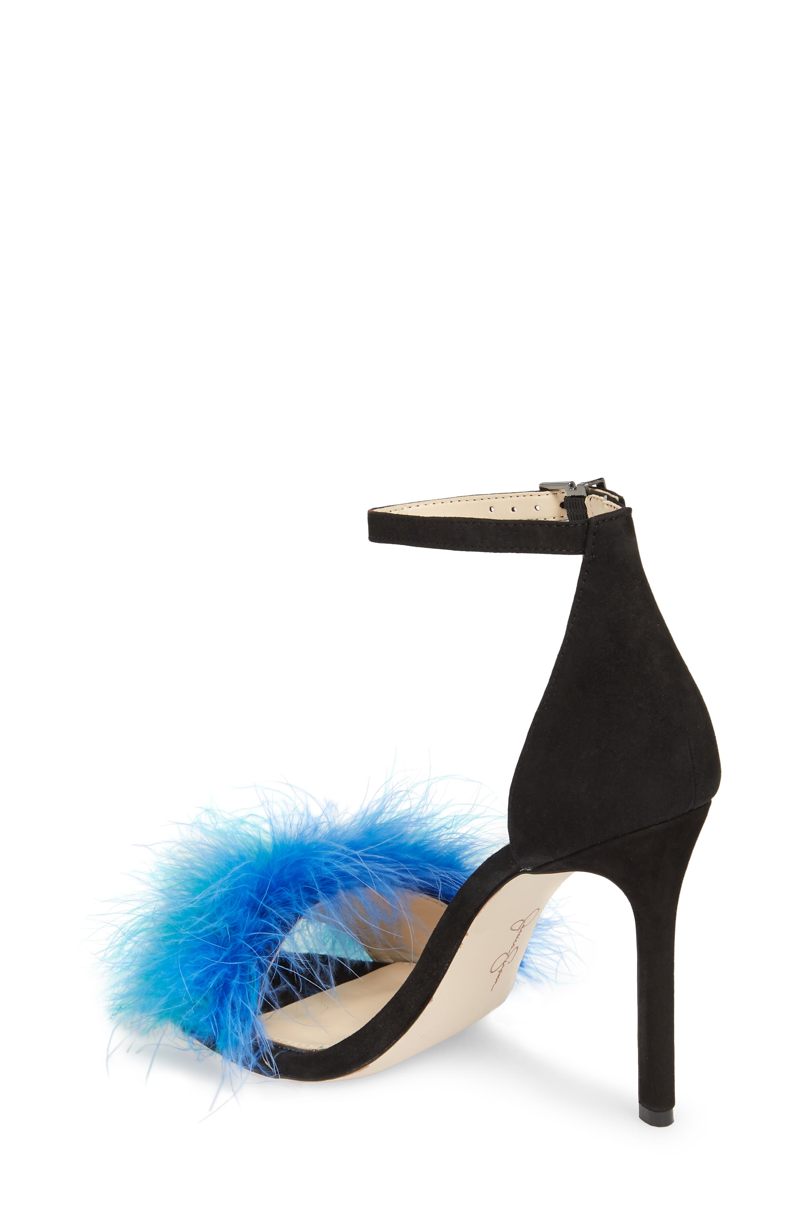Jesaphine Feathered Sandal,                             Alternate thumbnail 2, color,                             460