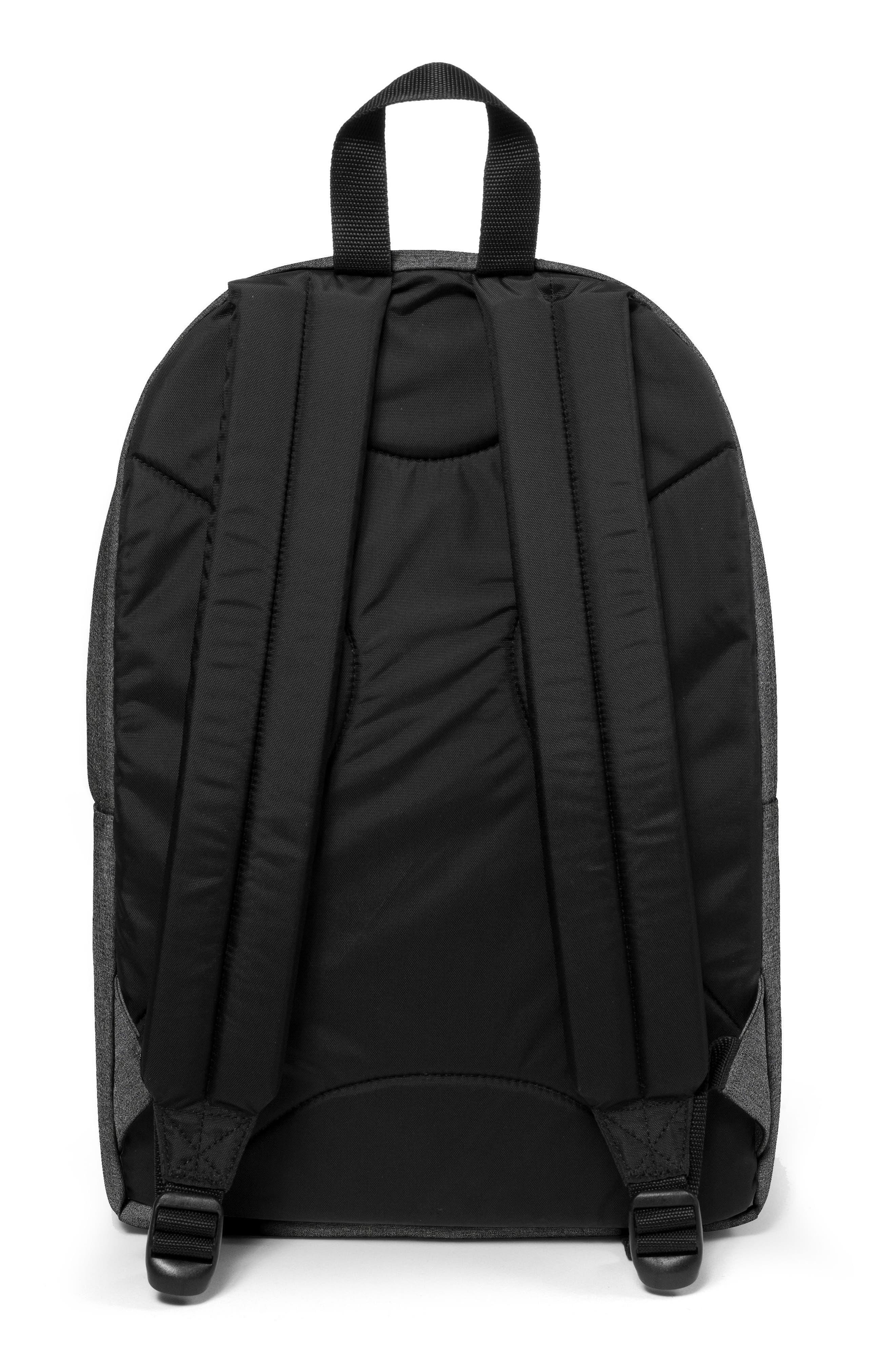 Back to Work Backpack,                             Alternate thumbnail 3, color,                             BLACK DENIM