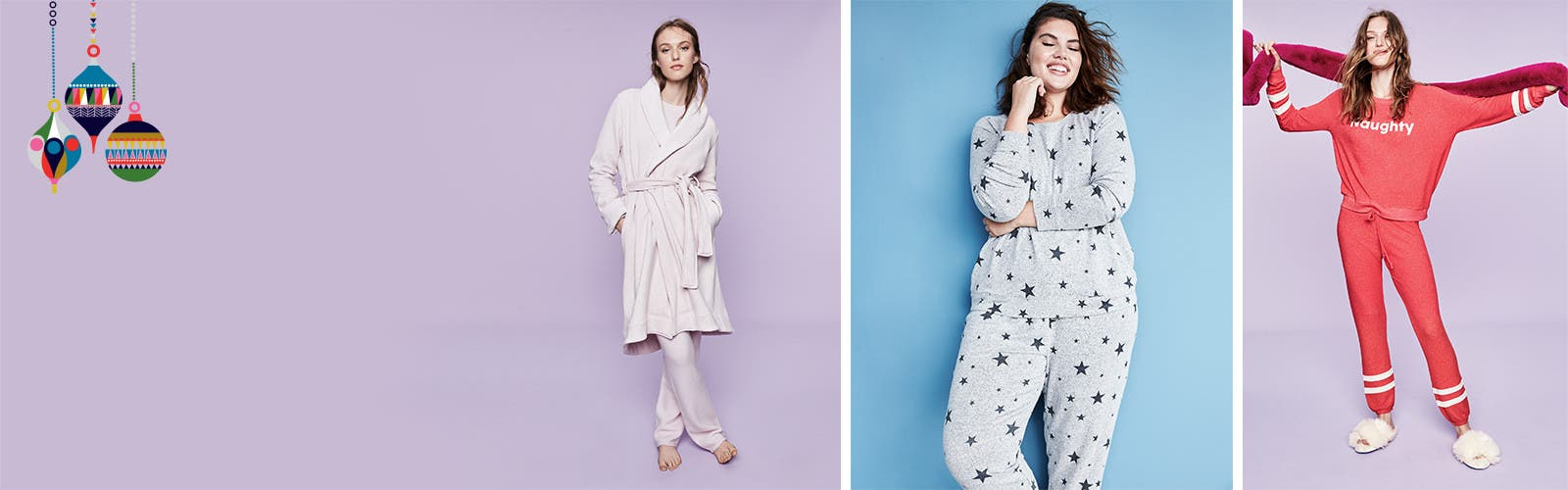 Give cozy pajamas and robes.