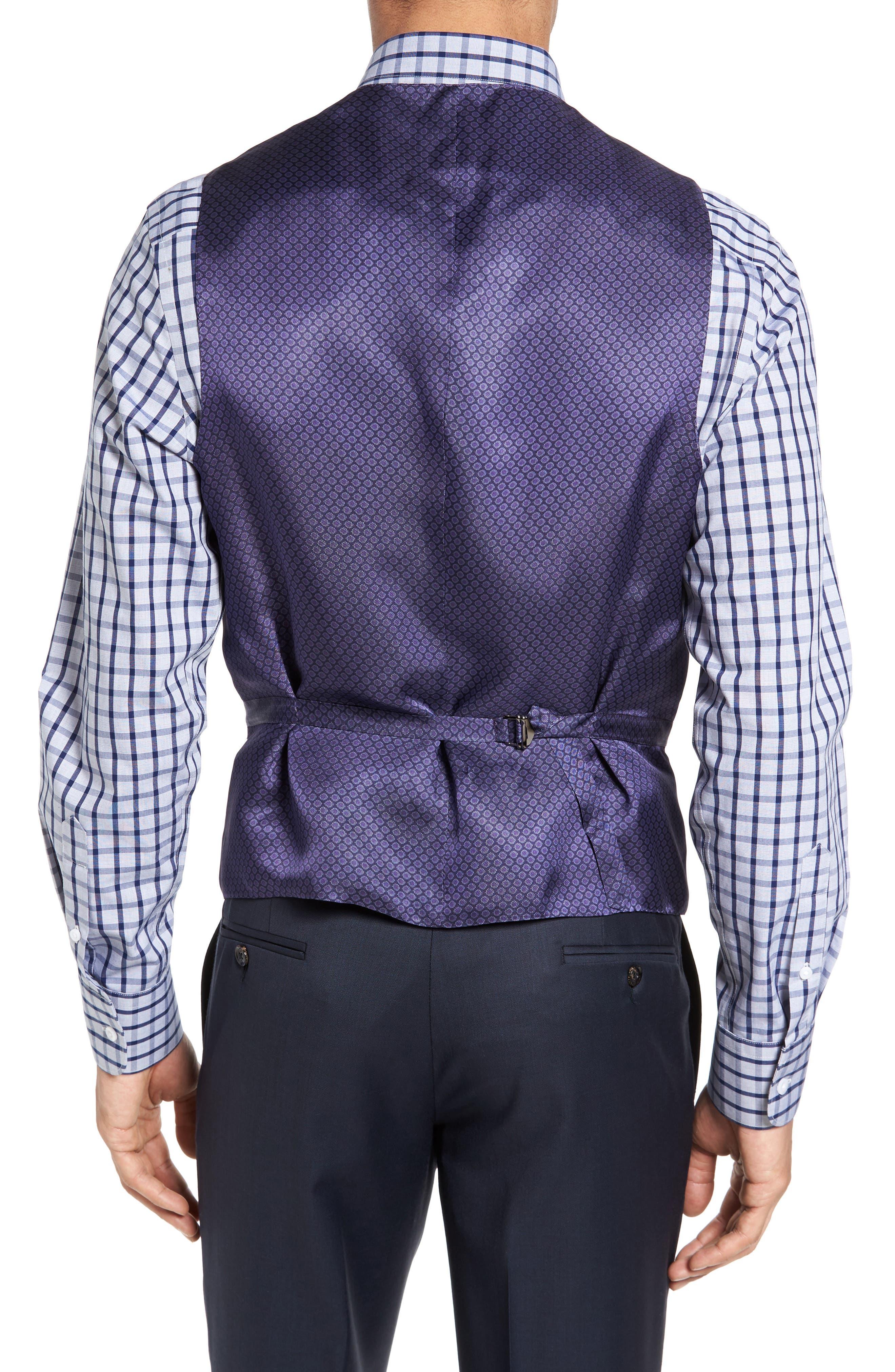 Jones Trim Fit Wool Vest,                             Alternate thumbnail 10, color,