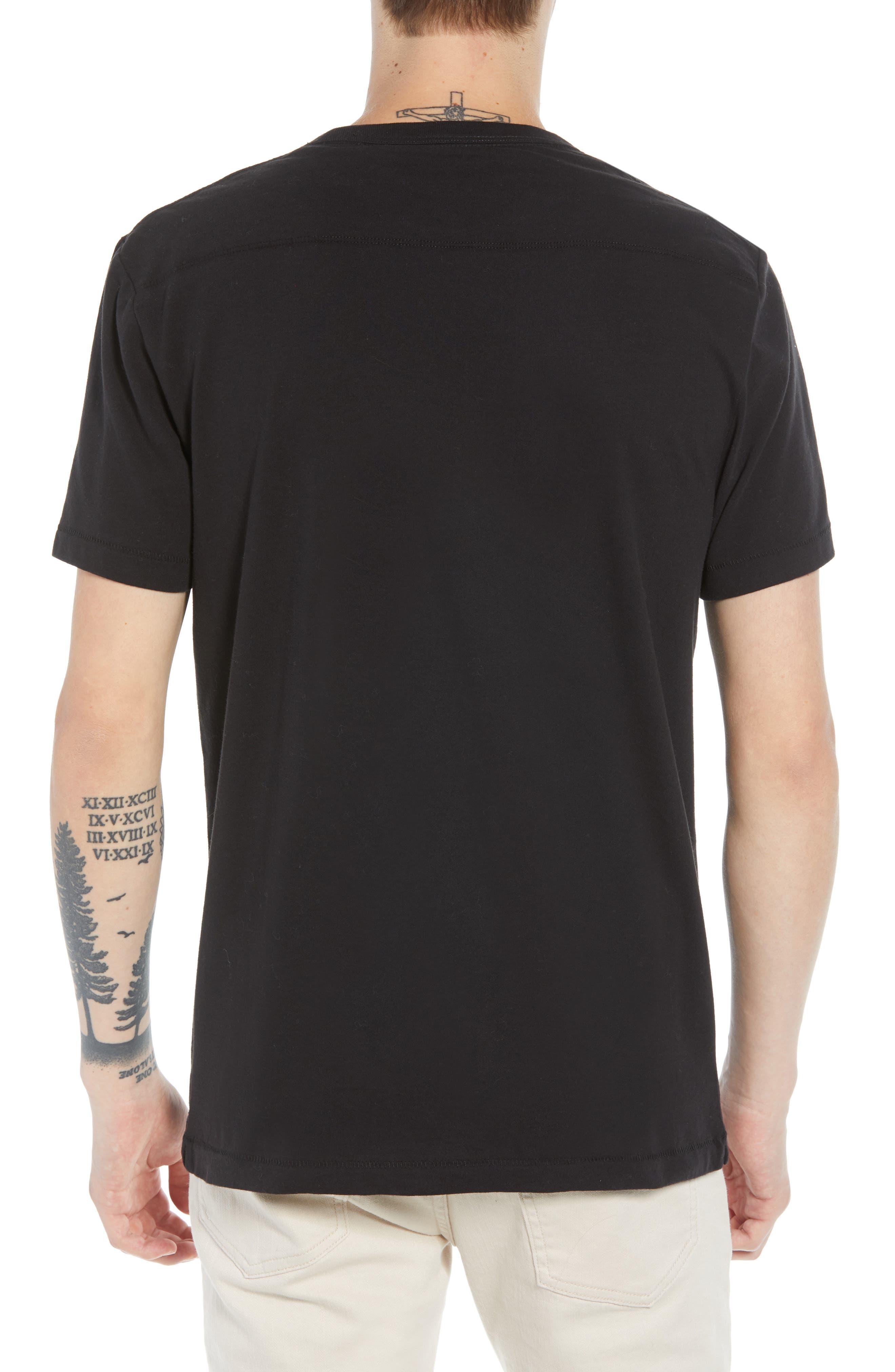 Love Struck T-Shirt,                             Alternate thumbnail 2, color,                             BLACK CALLUNA YELLOW WHITE