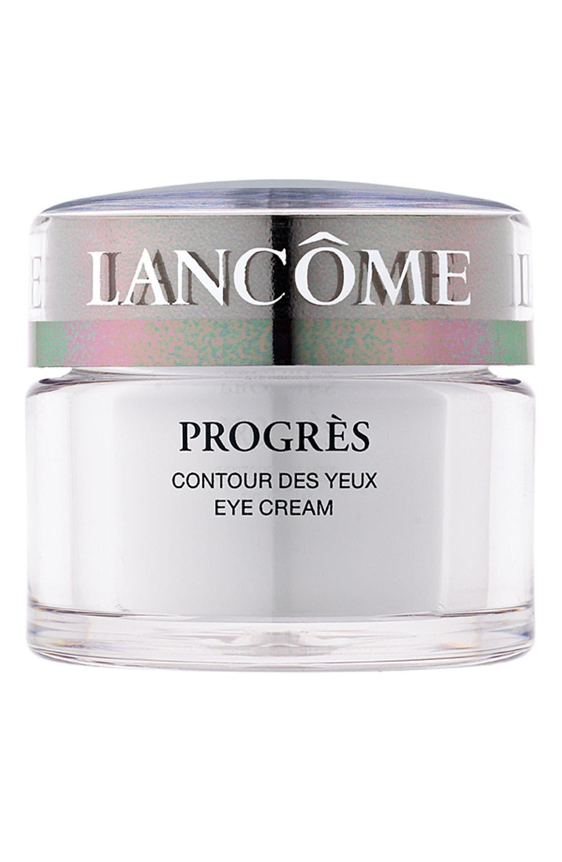 LANCÔME,                             Progrès Eye Cream,                             Main thumbnail 1, color,                             NO COLOR
