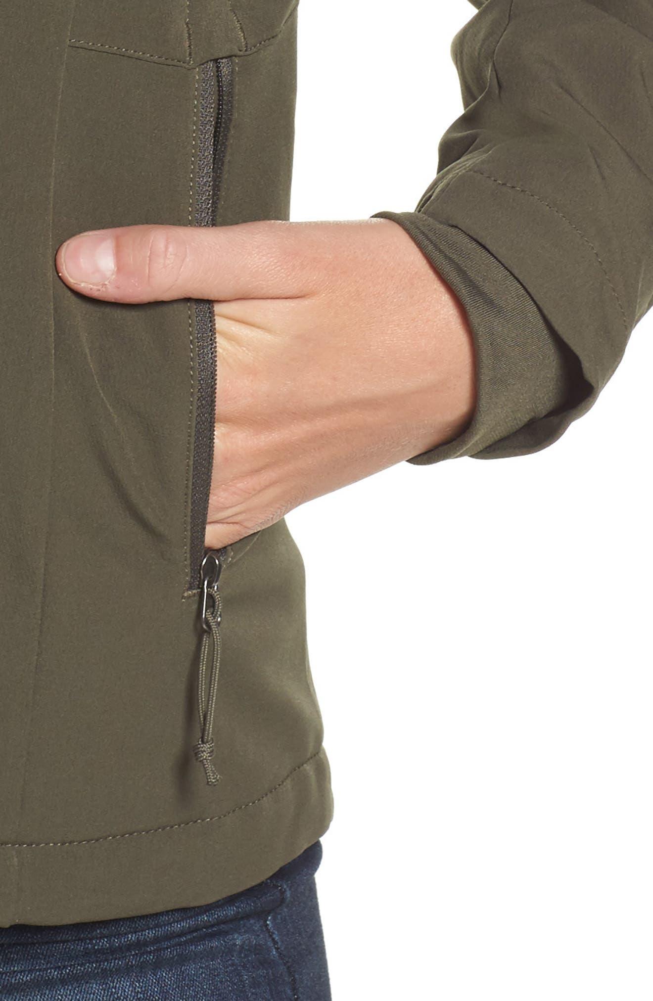 'Shelbe Raschel' Softshell Jacket,                             Alternate thumbnail 13, color,