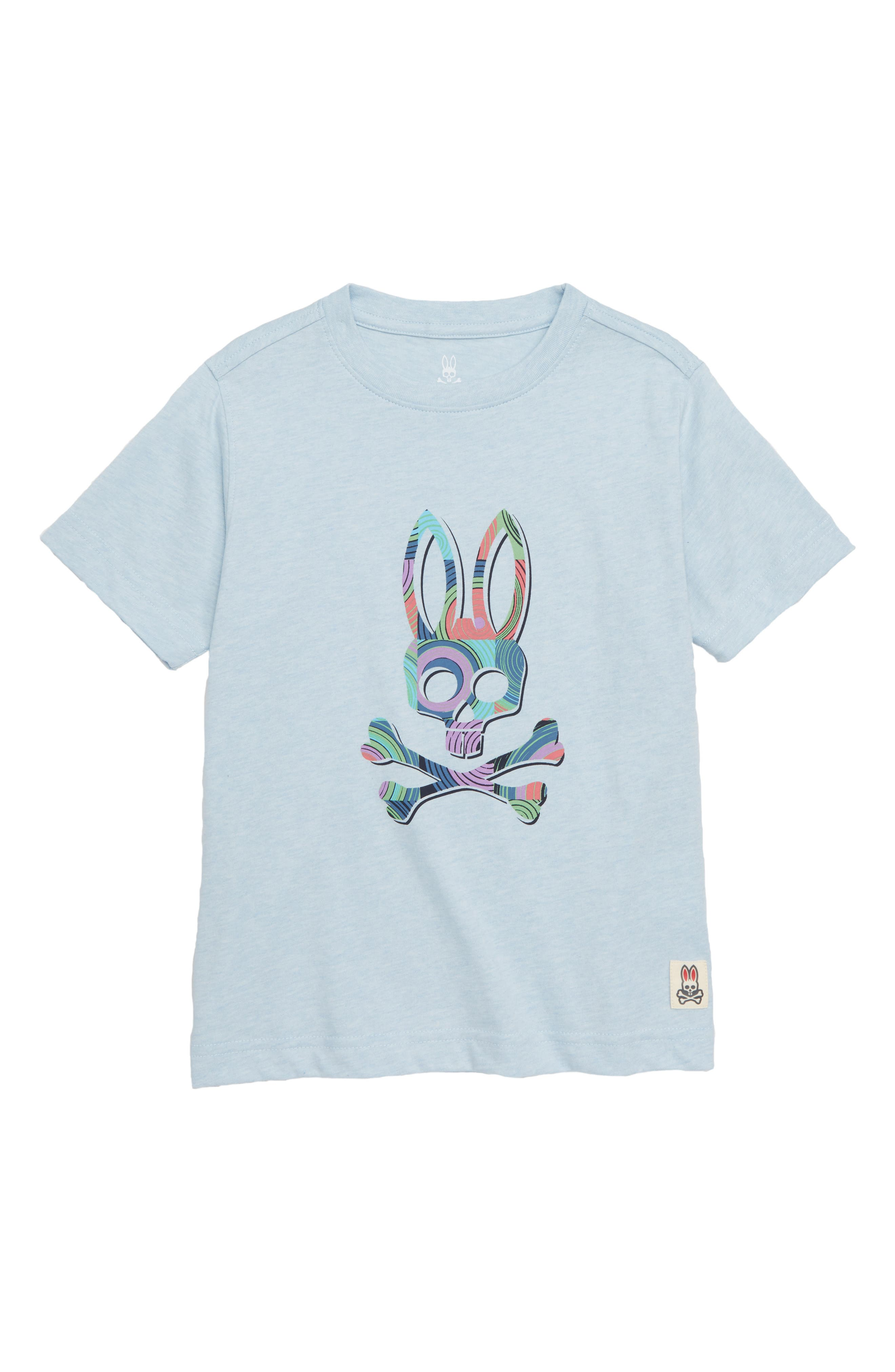 Logo Graphic T-Shirt,                             Main thumbnail 1, color,                             HEATHER LUNAR