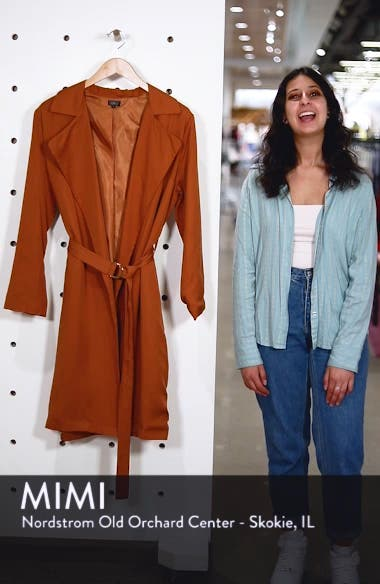 Carmen Belted Trench Coat, sales video thumbnail