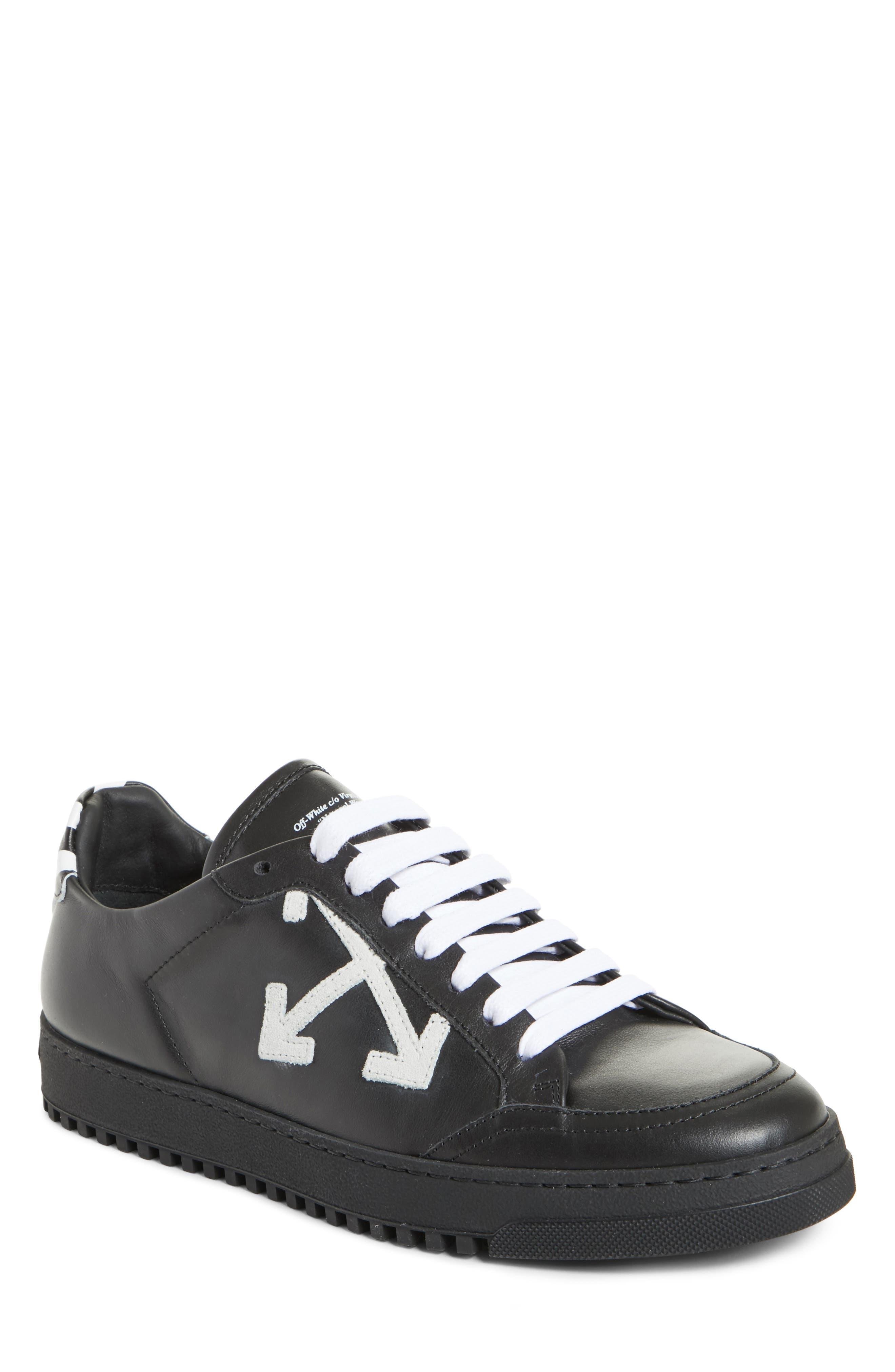 Arrow Sneaker,                         Main,                         color, BLACK WHITE