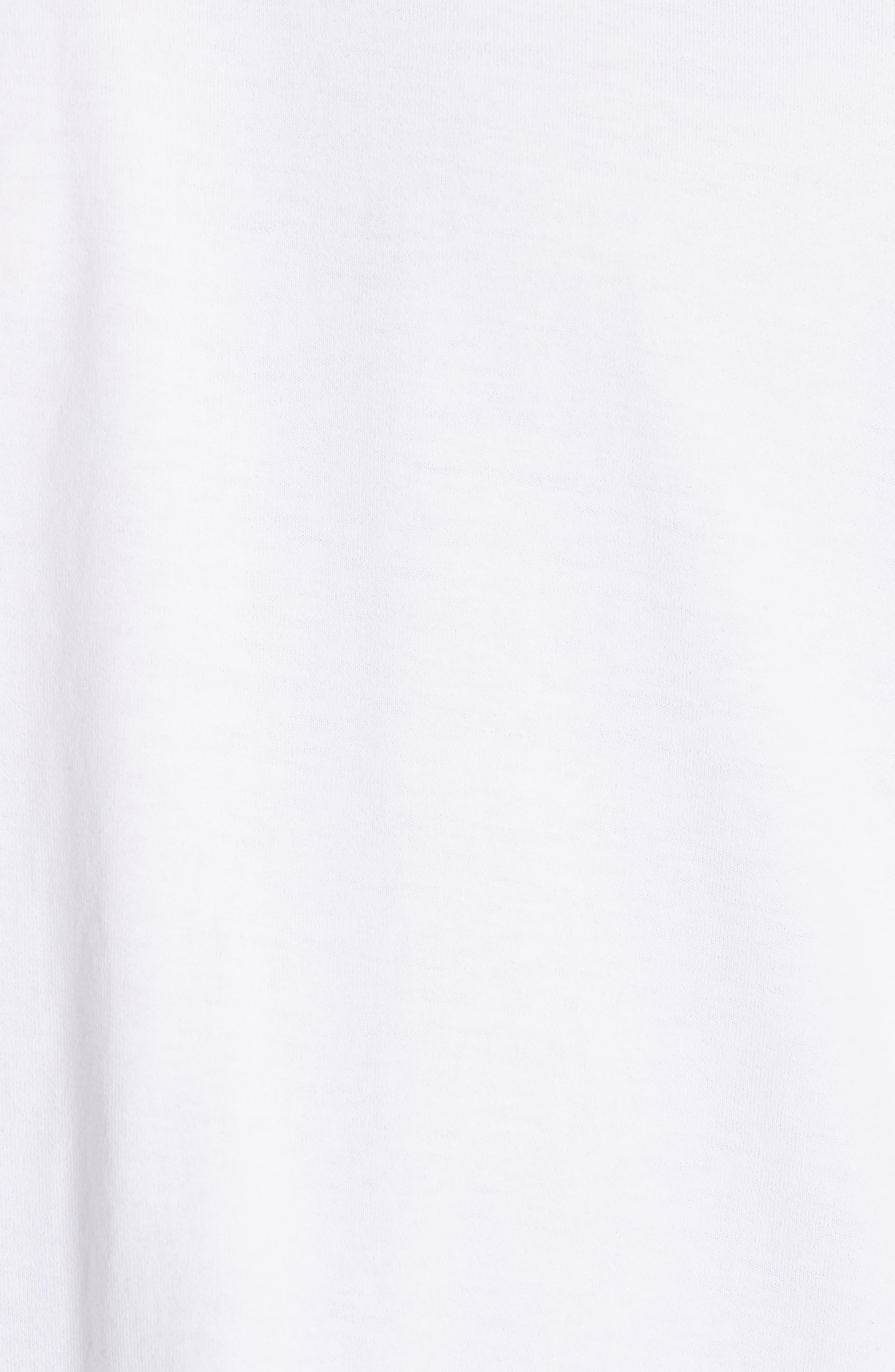 GIVENCHY,                             Star Appliqué T-Shirt,                             Alternate thumbnail 5, color,                             WHITE