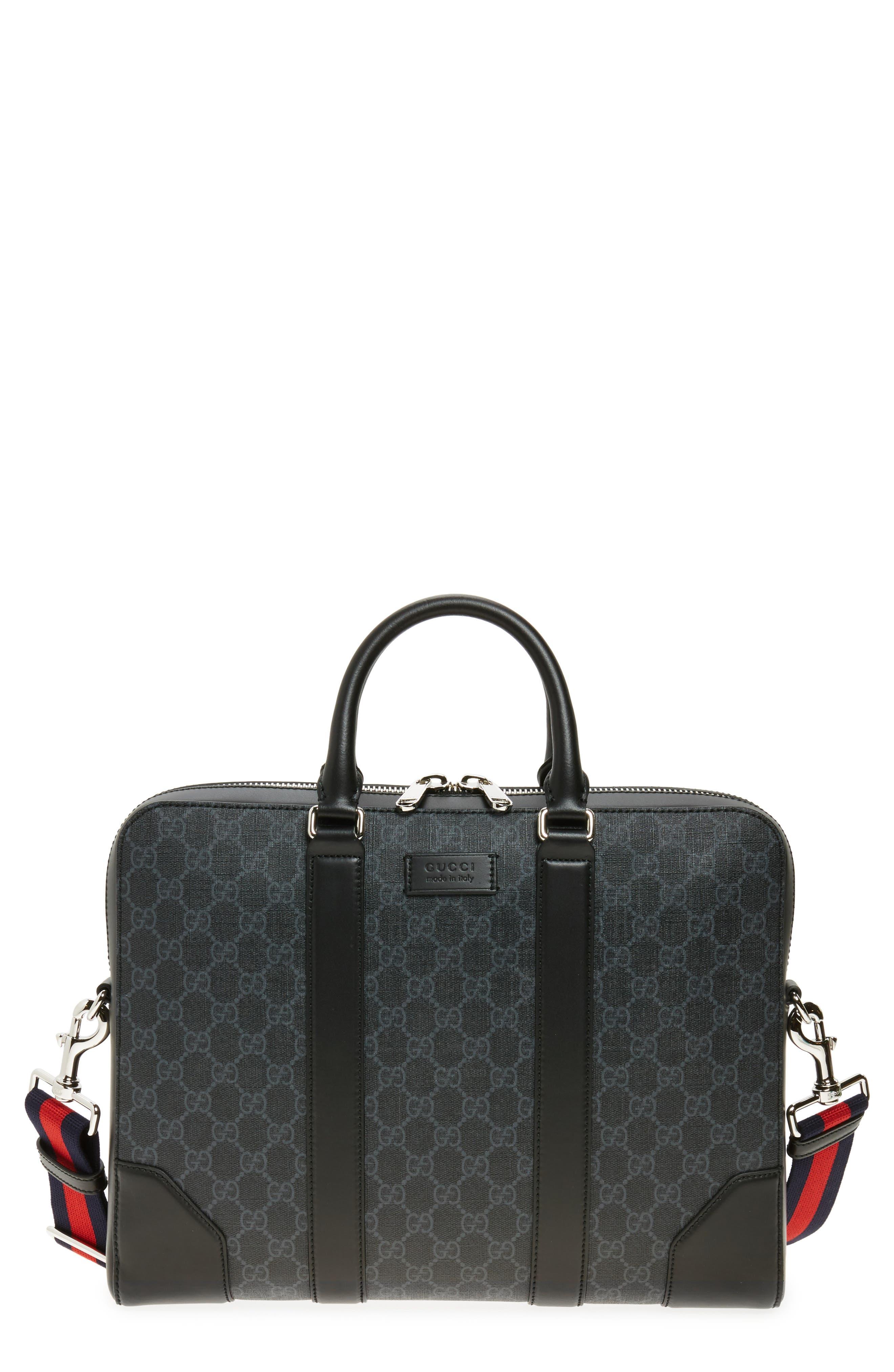 GG Canvas Briefcase,                         Main,                         color,