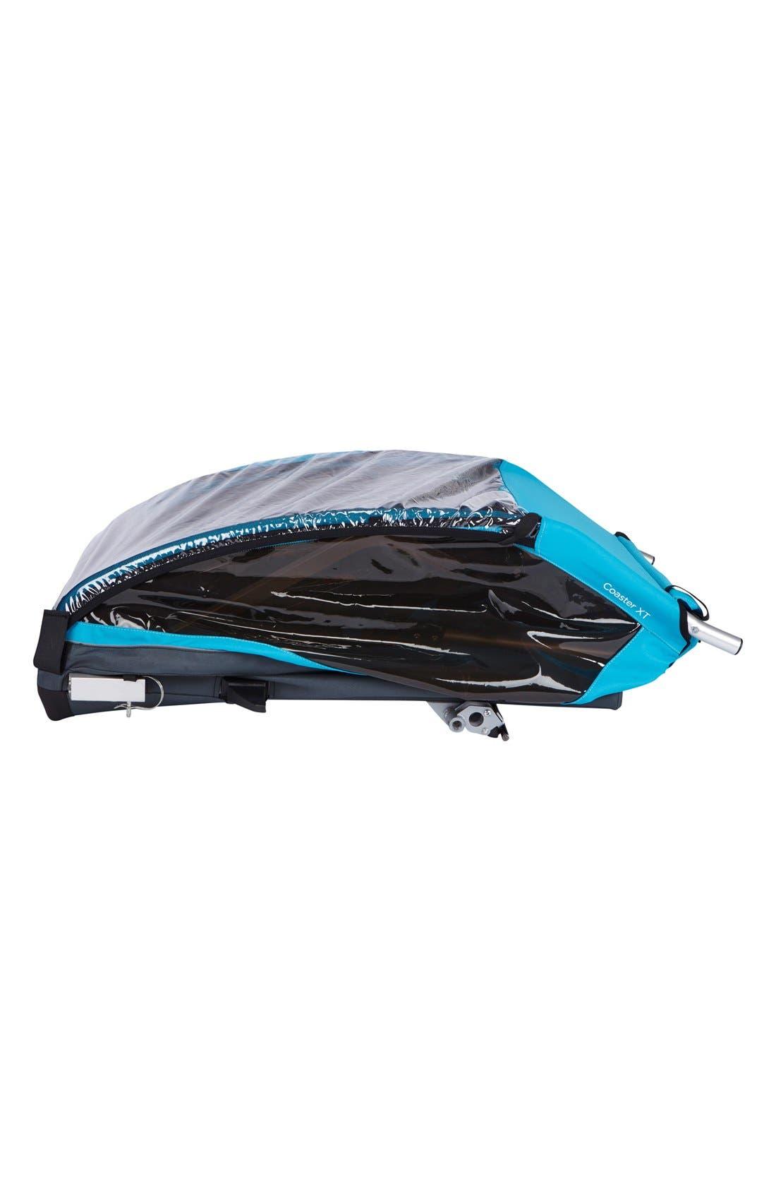 Coaster XT Double Seat Bike Trailer,                             Alternate thumbnail 5, color,                             BLUE