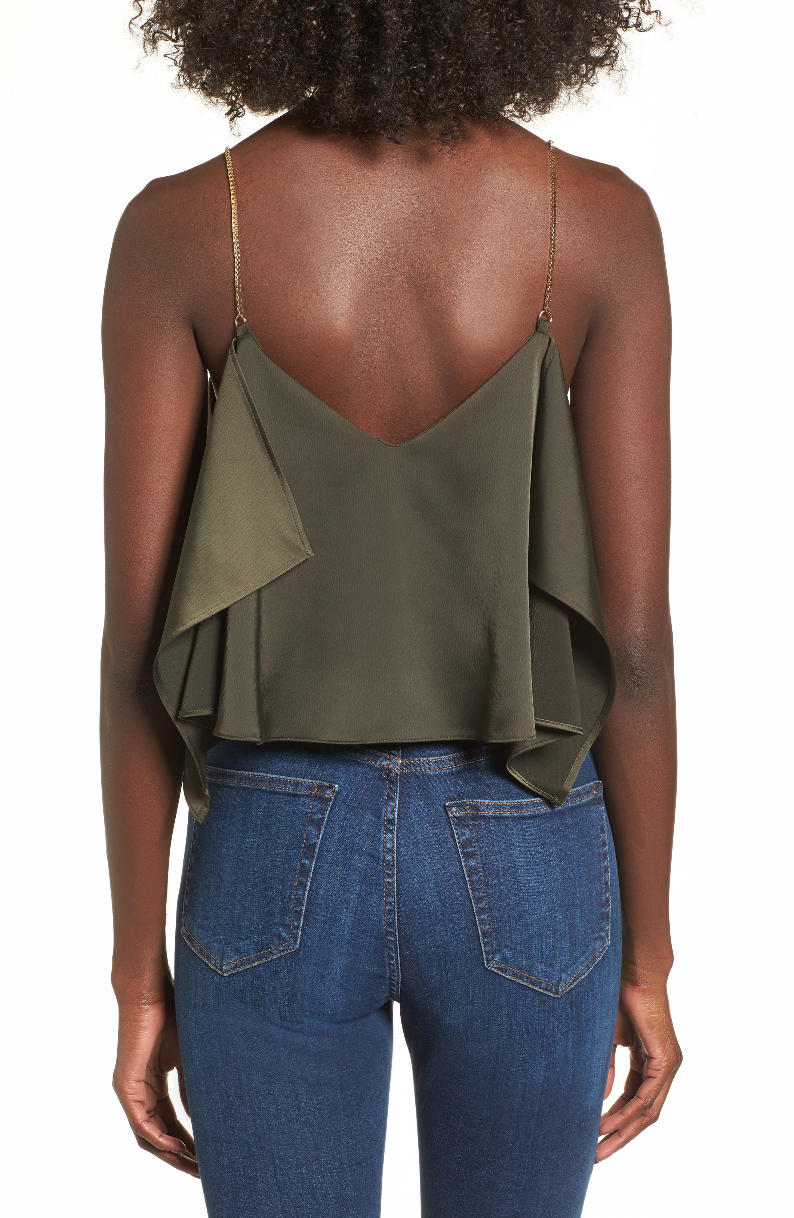 Chain Strap Camisole Top,                             Alternate thumbnail 7, color,
