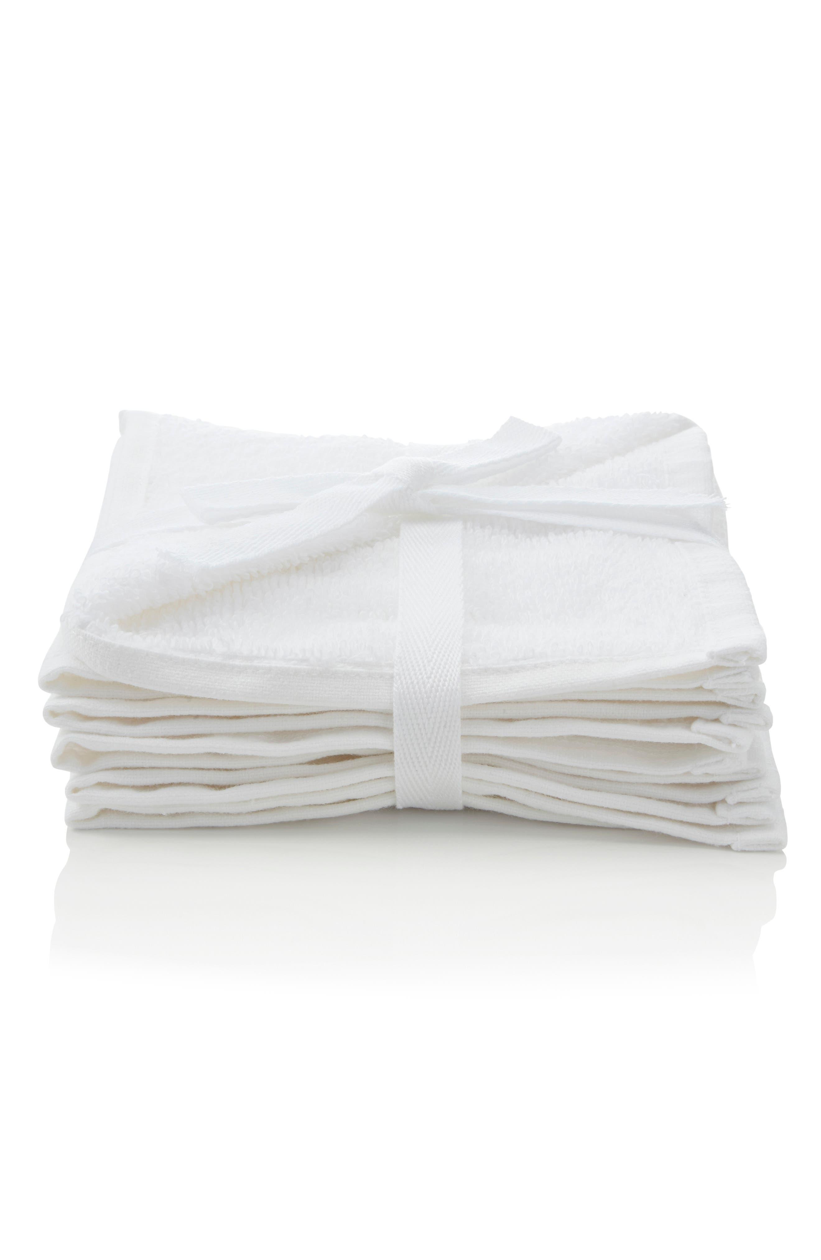 Set of 3 Washcloths,                             Main thumbnail 1, color,                             100