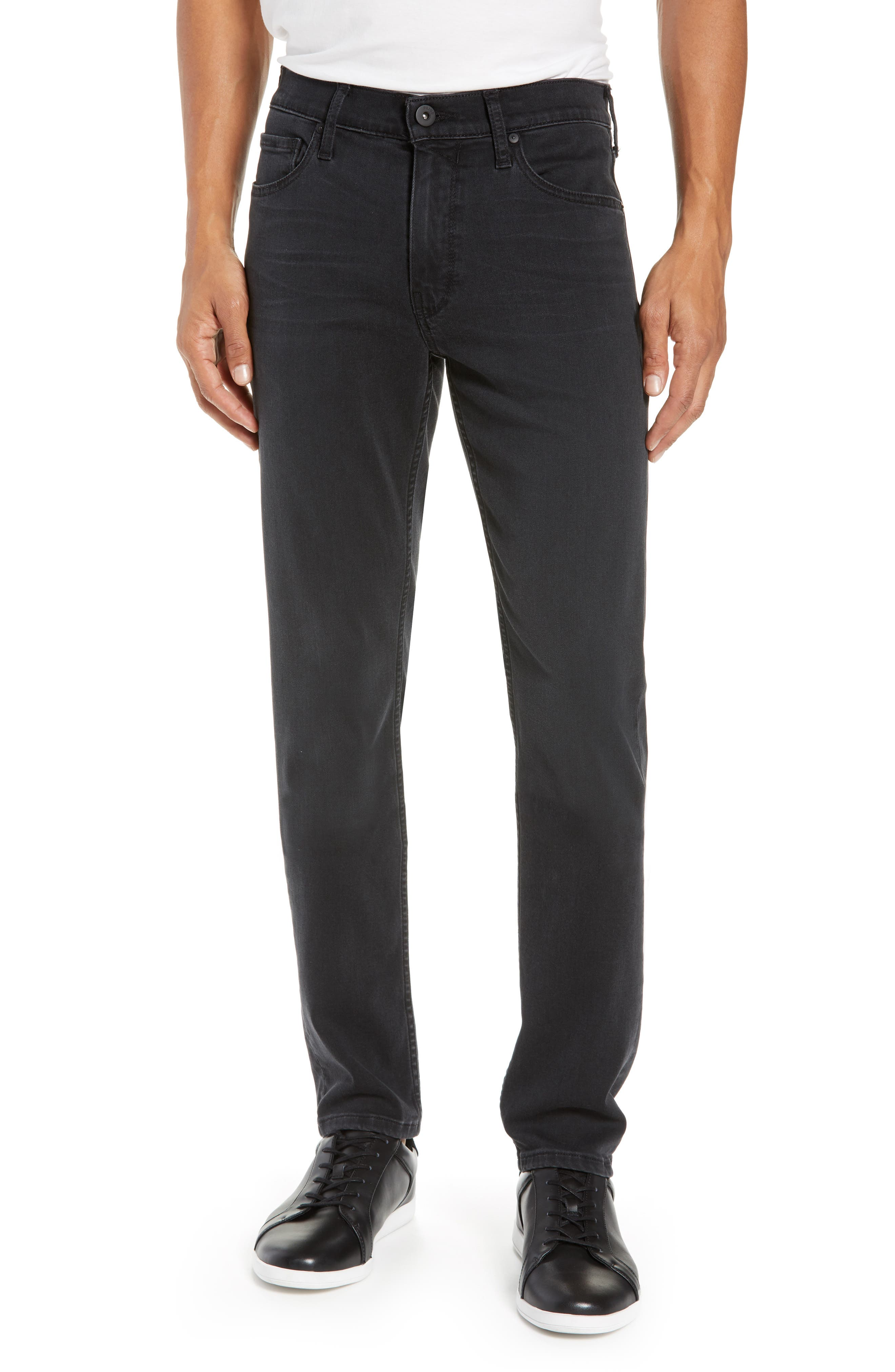 Transcend Lennox Slim Fit Jeans,                         Main,                         color, KNOLL