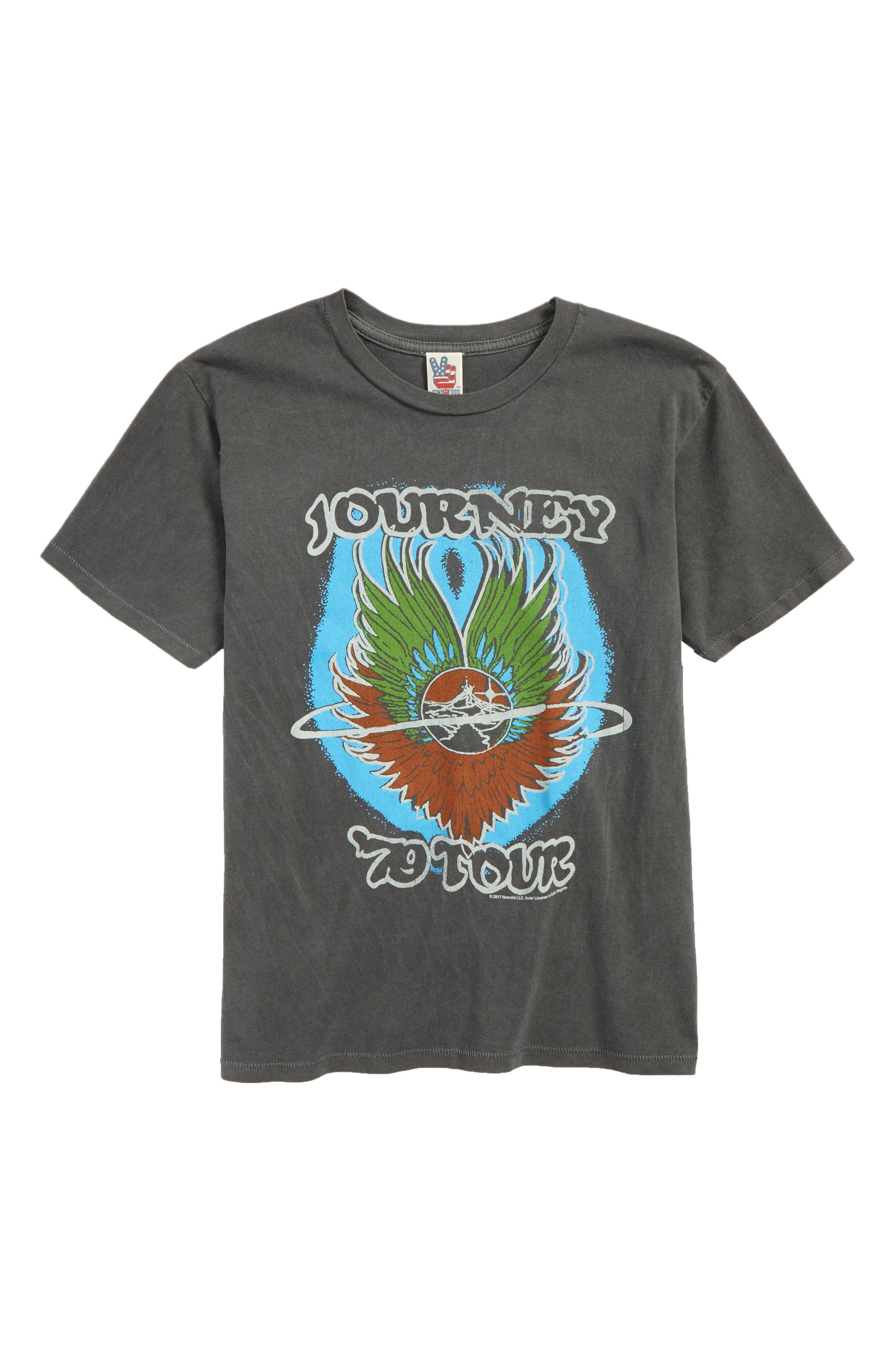 Journey '79 Tour Graphic T-Shirt,                         Main,                         color, 088