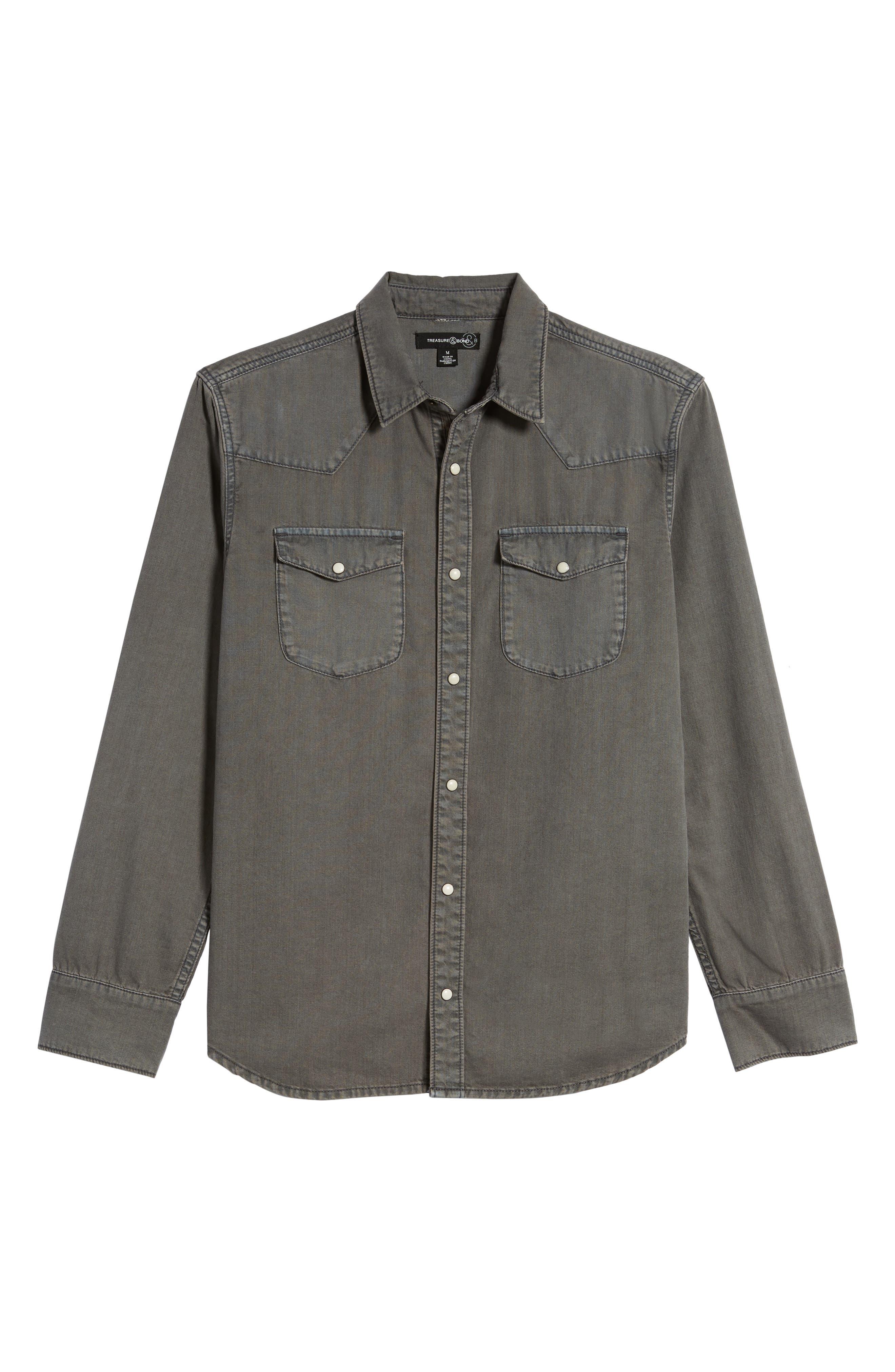 Core Western Shirt,                             Alternate thumbnail 6, color,                             050