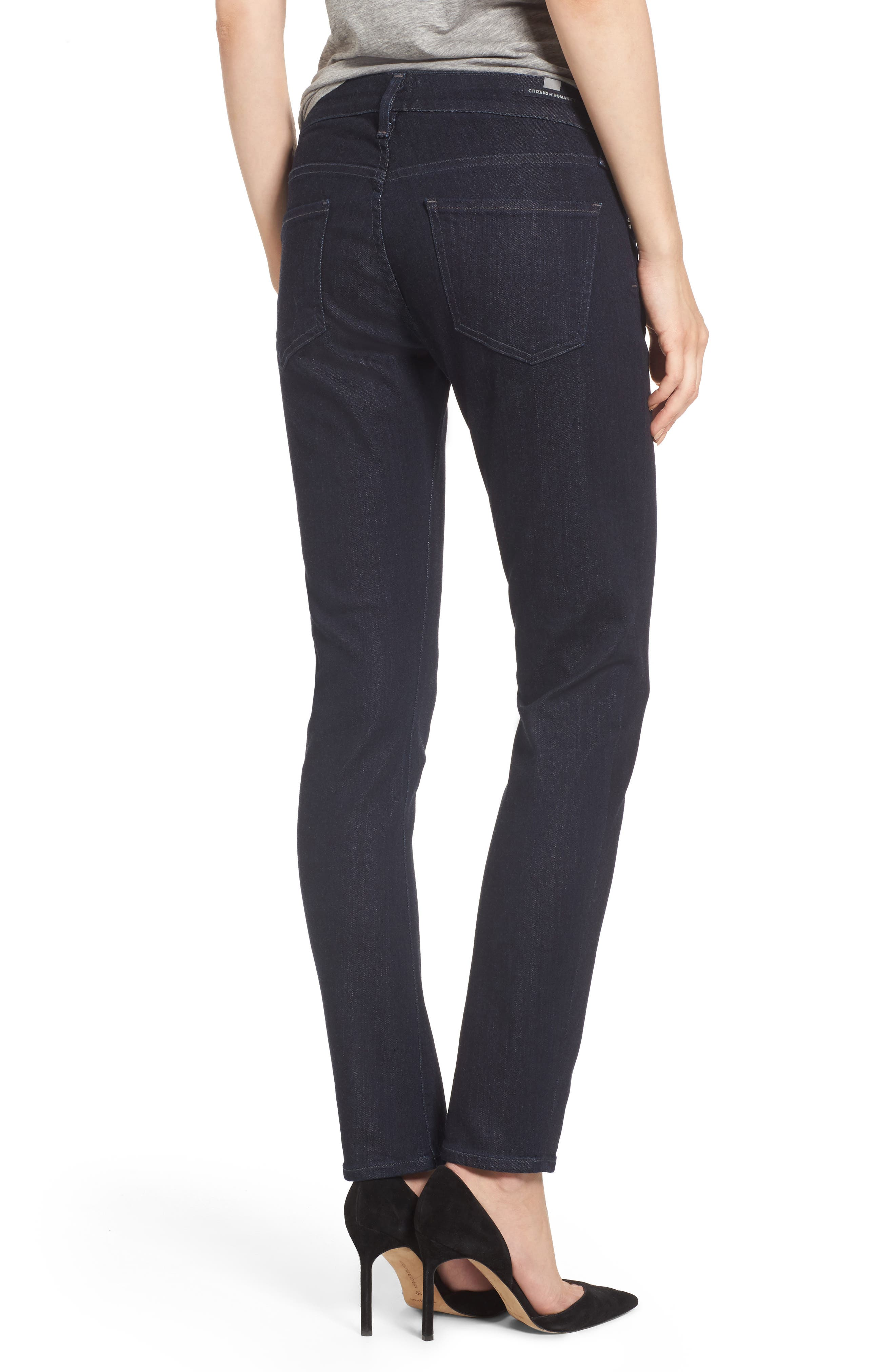 Arielle Slim Jeans,                             Alternate thumbnail 2, color,                             403