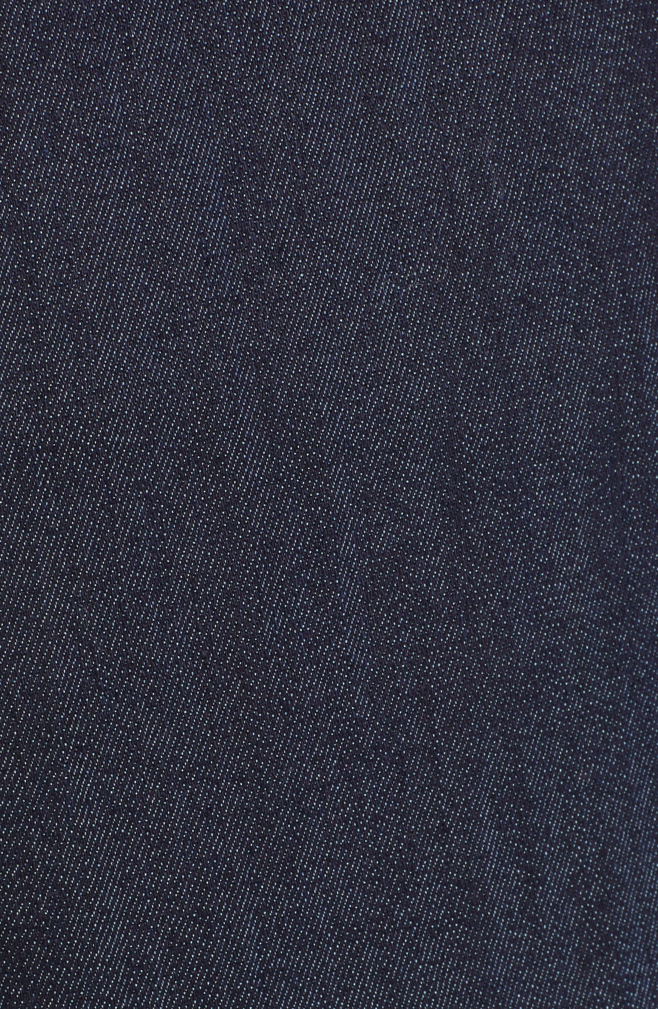 Azure Crop Wide Leg Jeans,                             Alternate thumbnail 5, color,                             INDIGO