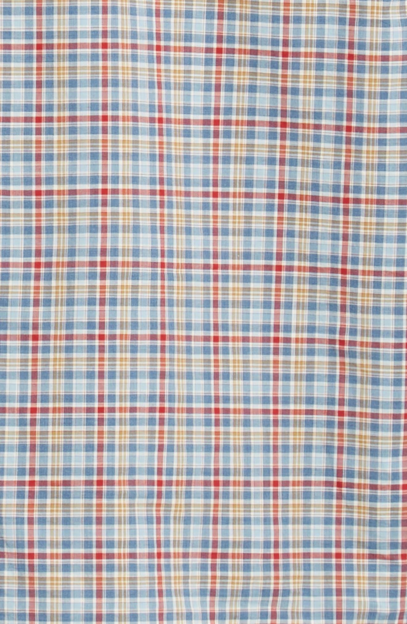 Ellis Classic Fit Sport Shirt,                             Alternate thumbnail 6, color,                             MARINER