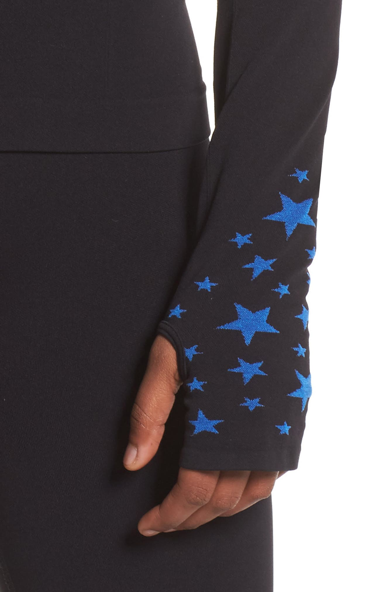 BoomBoom Athletica Seamless Star Jacket,                             Alternate thumbnail 4, color,                             006