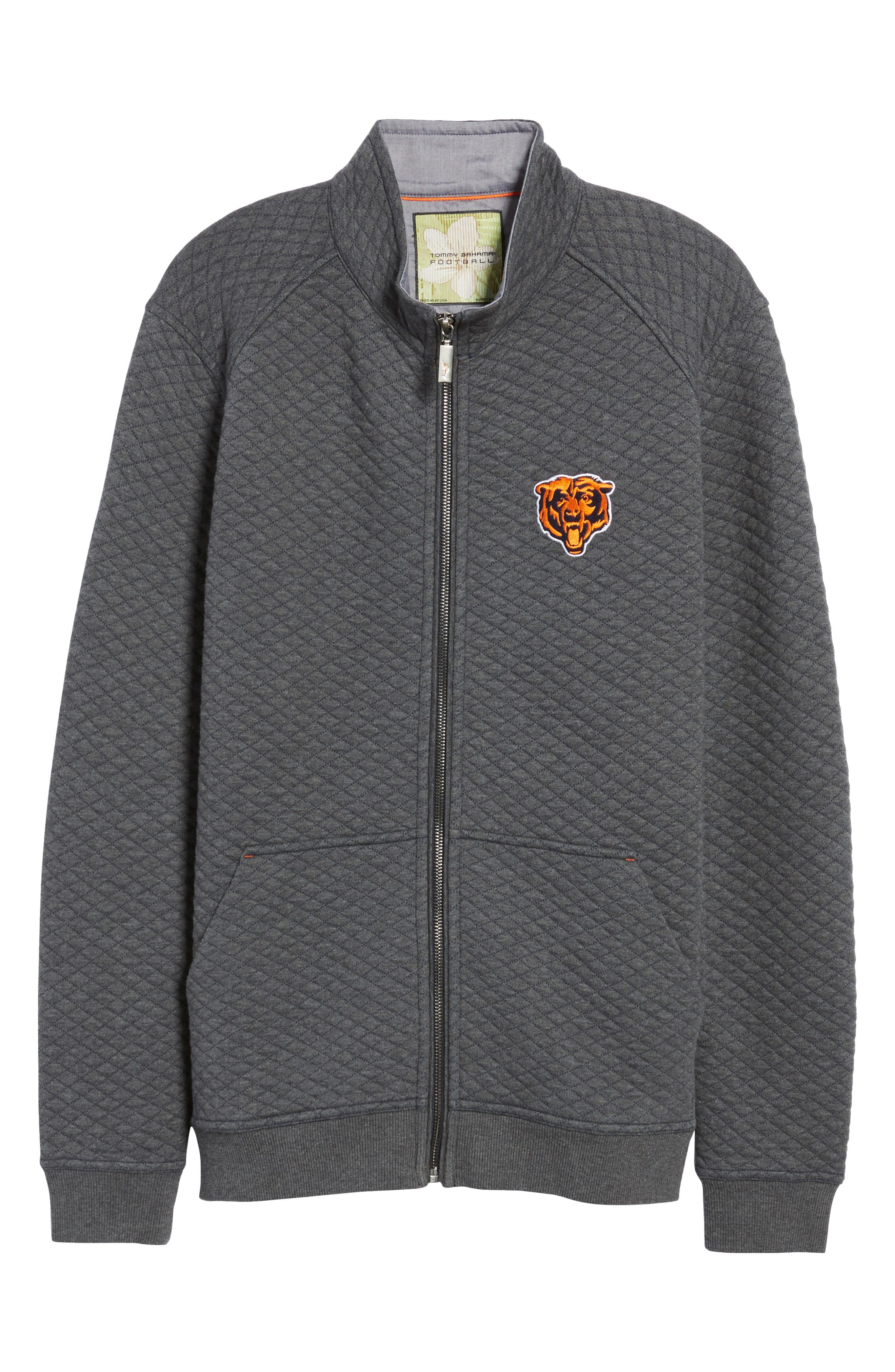 NFL Quiltessential Full Zip Sweatshirt,                             Alternate thumbnail 158, color,