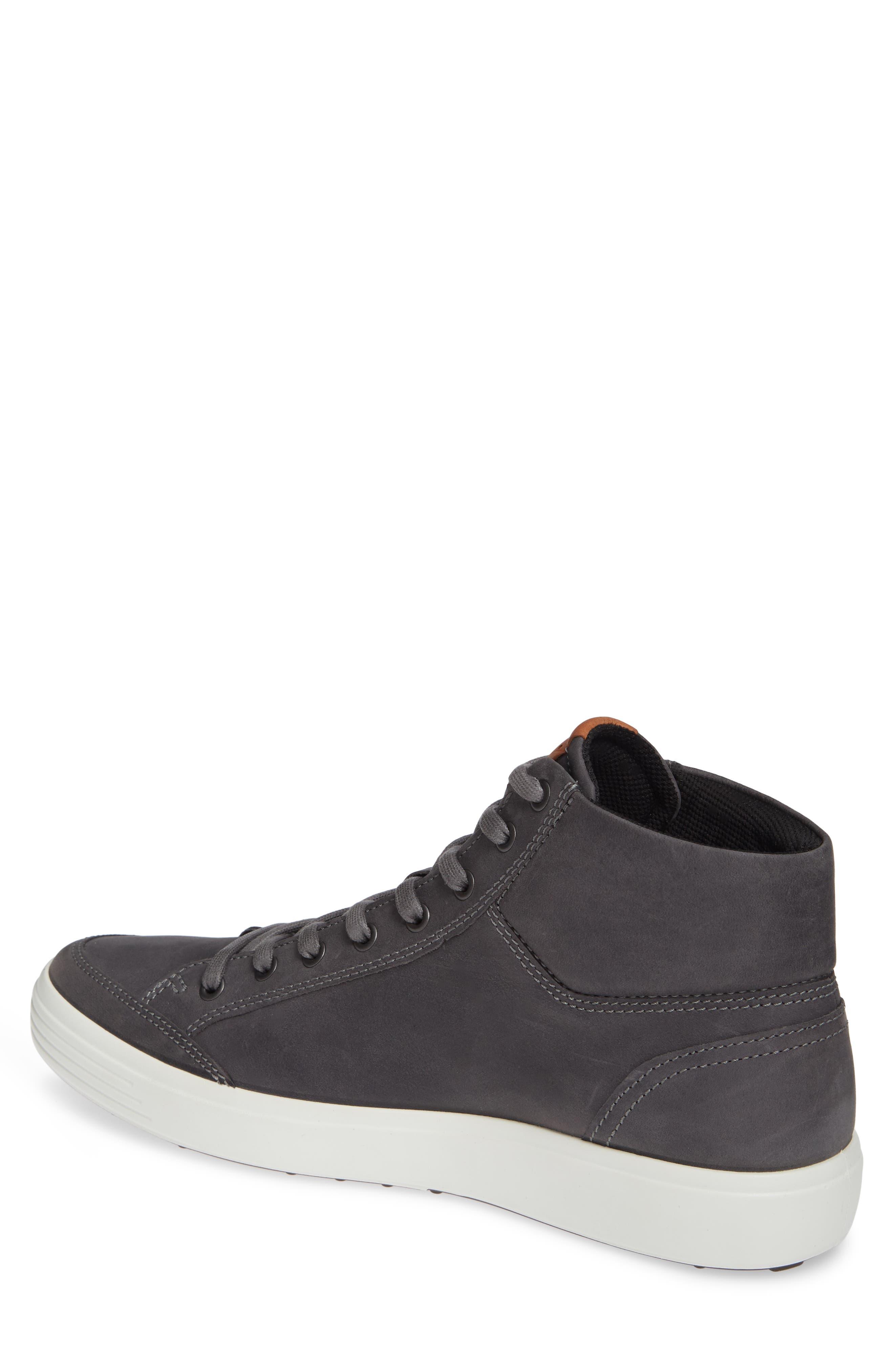 Soft 7 Sneaker,                             Alternate thumbnail 2, color,                             TITANIUM LEATHER