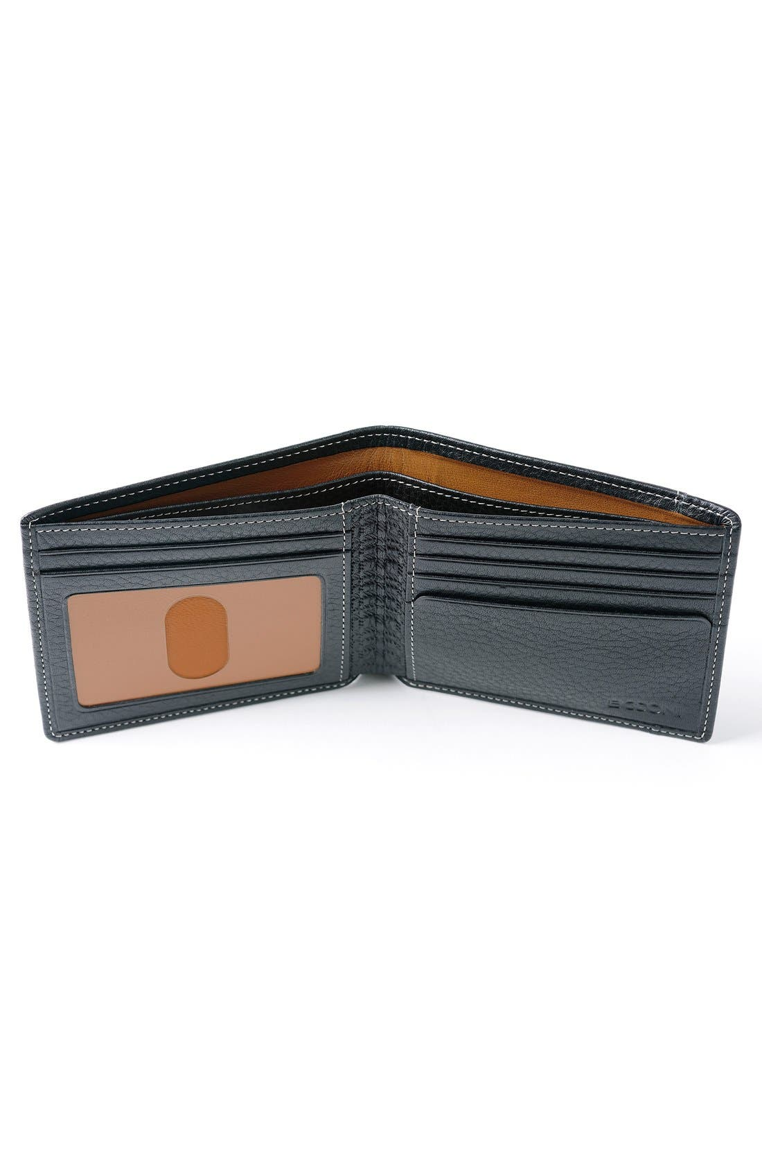 'Tyler' RFID Wallet,                             Alternate thumbnail 4, color,                             BLACK