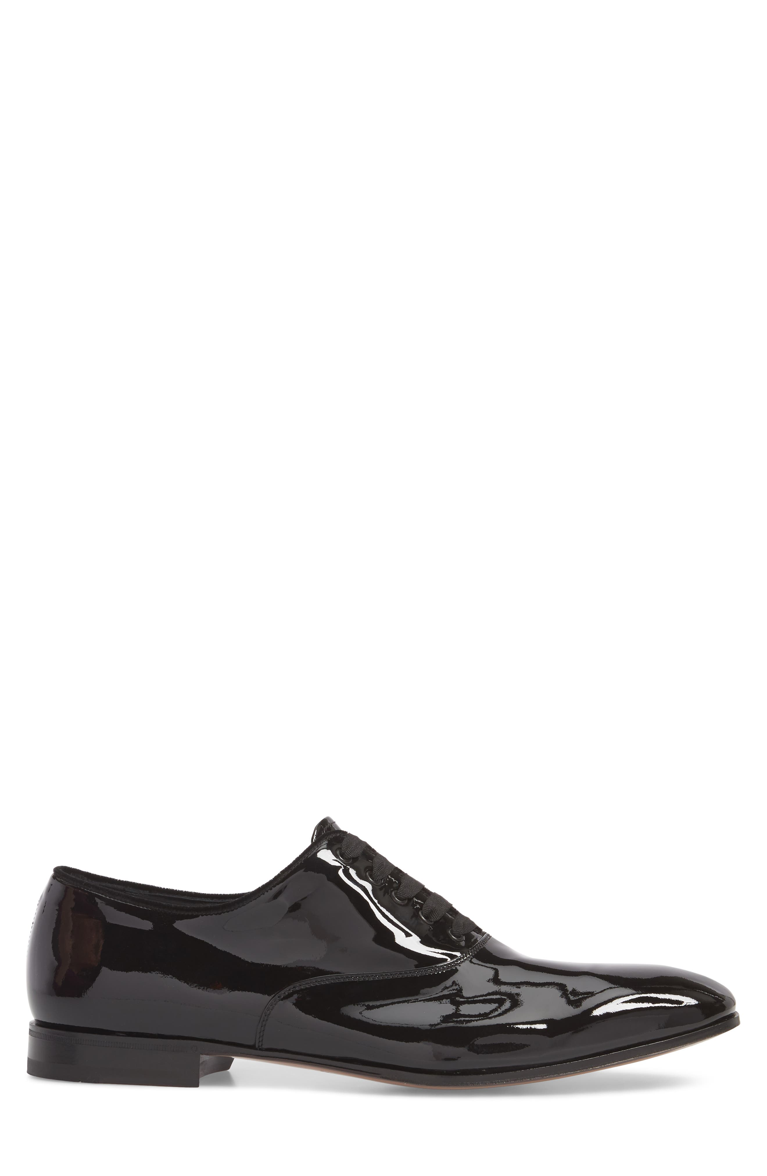 Belshaw Patent Oxford,                             Alternate thumbnail 3, color,                             NERO PATENT LEATHER
