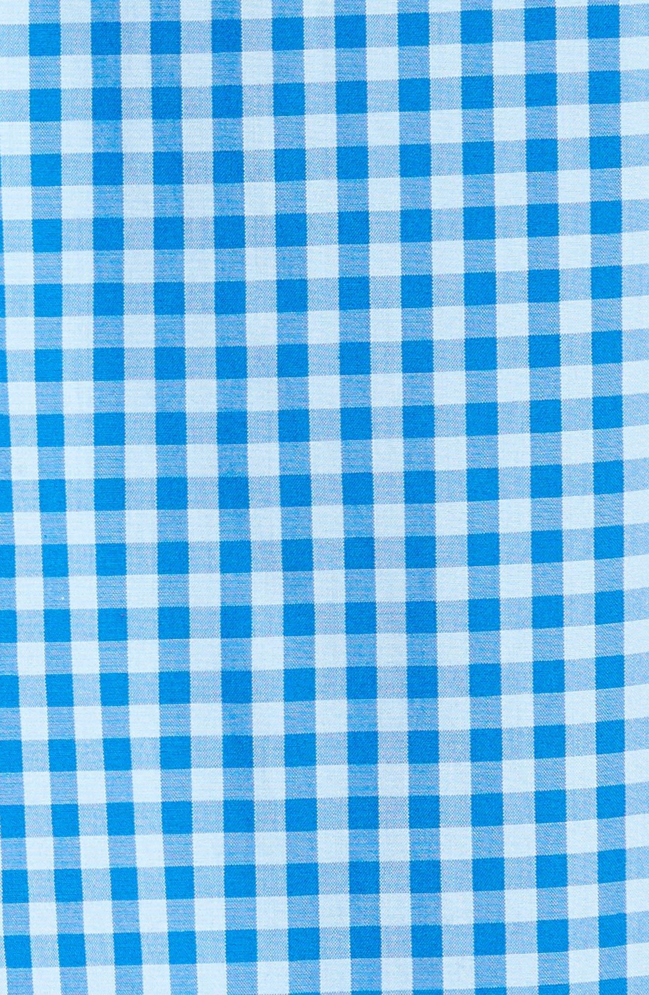 Murray Classic Fit Folly Beach Gingham Sport Shirt,                             Alternate thumbnail 5, color,                             456