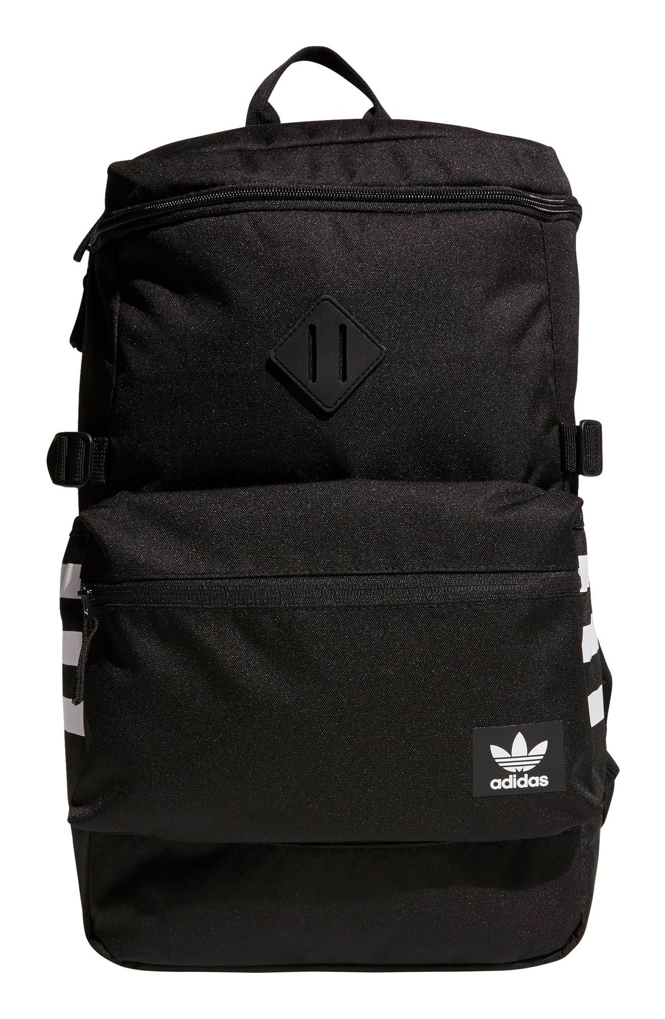 Originals Tote Pack II Backpack,                         Main,                         color, BLACK