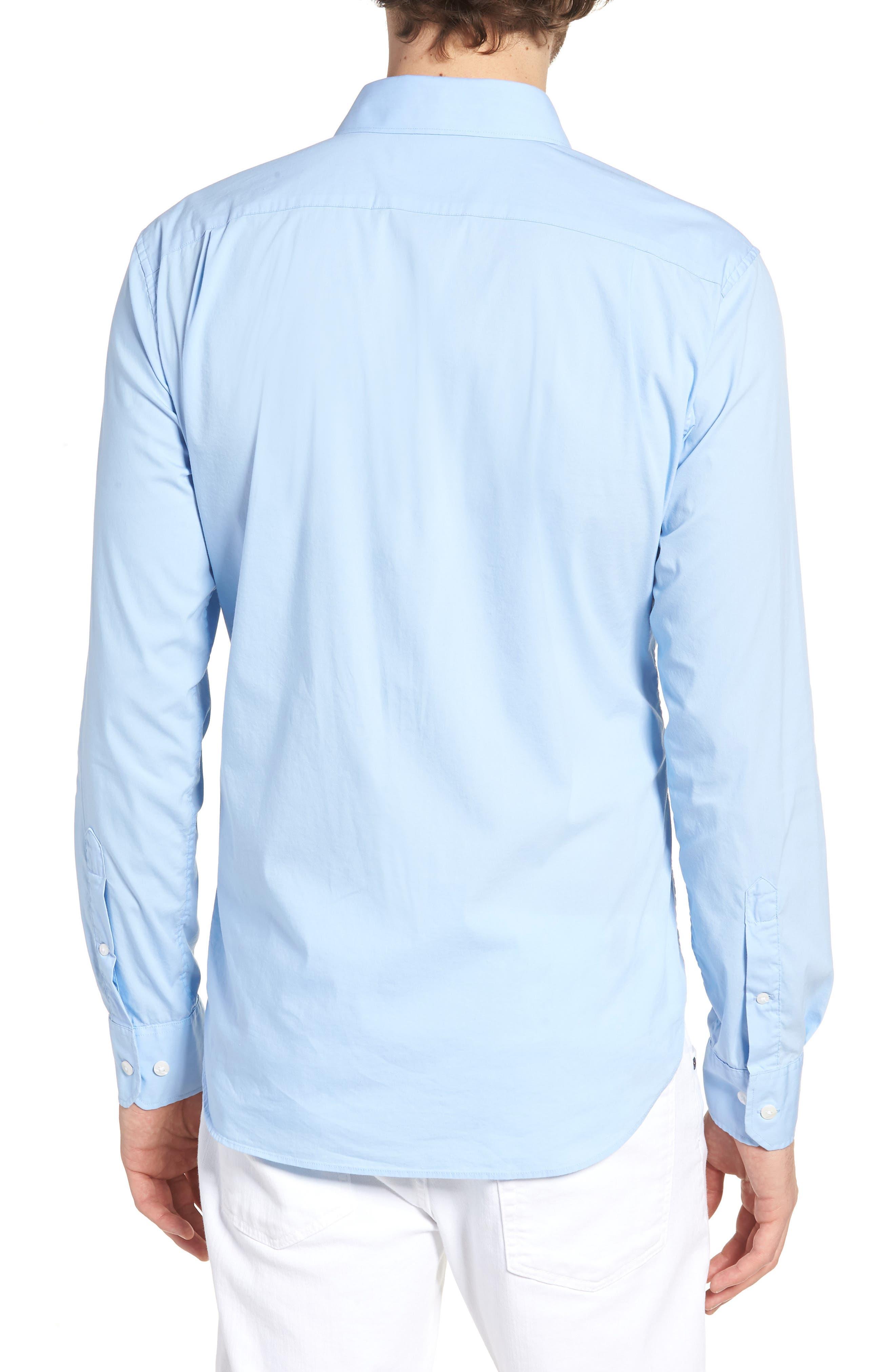 Unbutton Down 2.0 Slim Fit Sport Shirt,                             Alternate thumbnail 7, color,