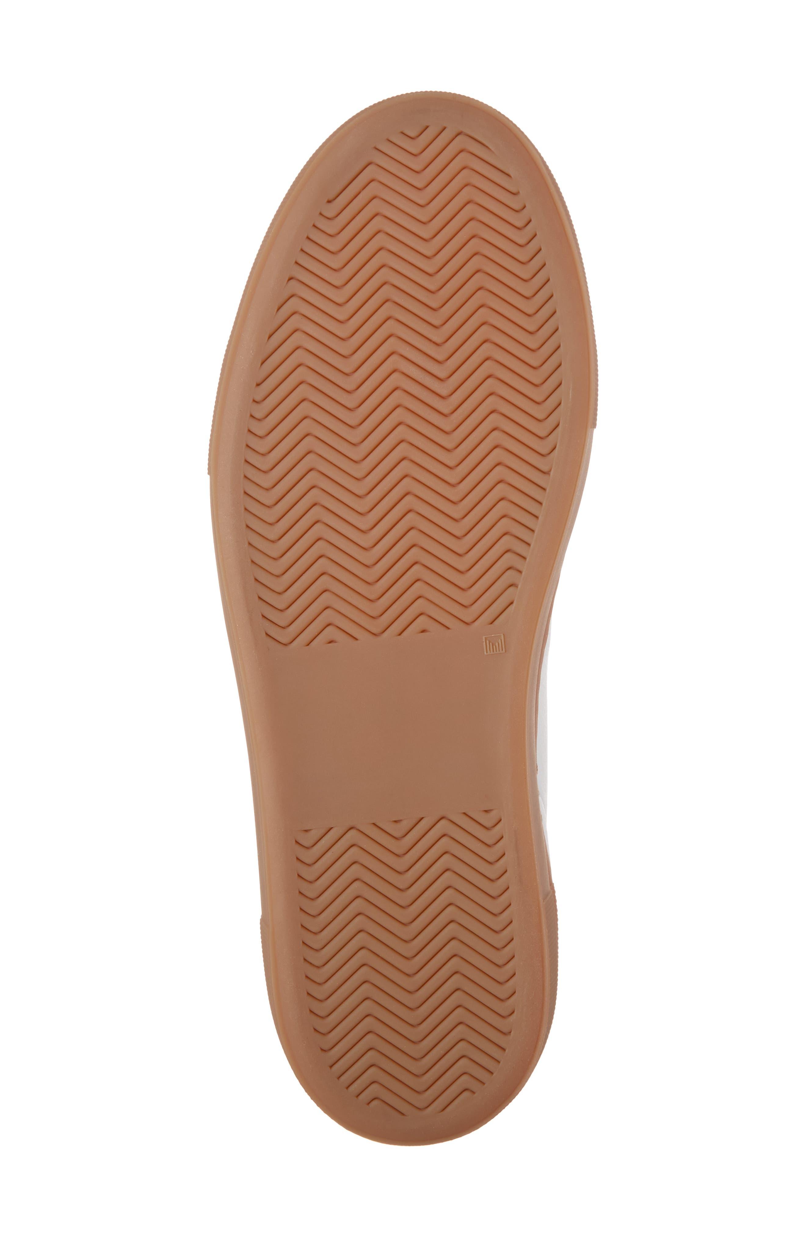 Clean 360 Fuzzy Heel Sneaker,                             Alternate thumbnail 6, color,                             100