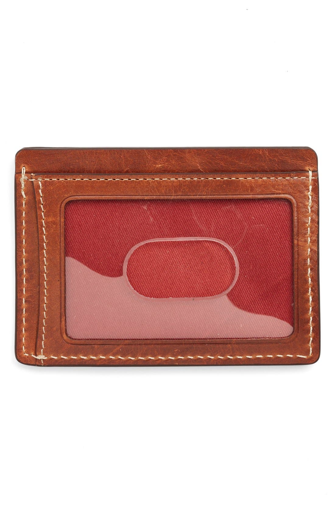 'Jackson' Bison Leather Card Case,                             Alternate thumbnail 2, color,                             700