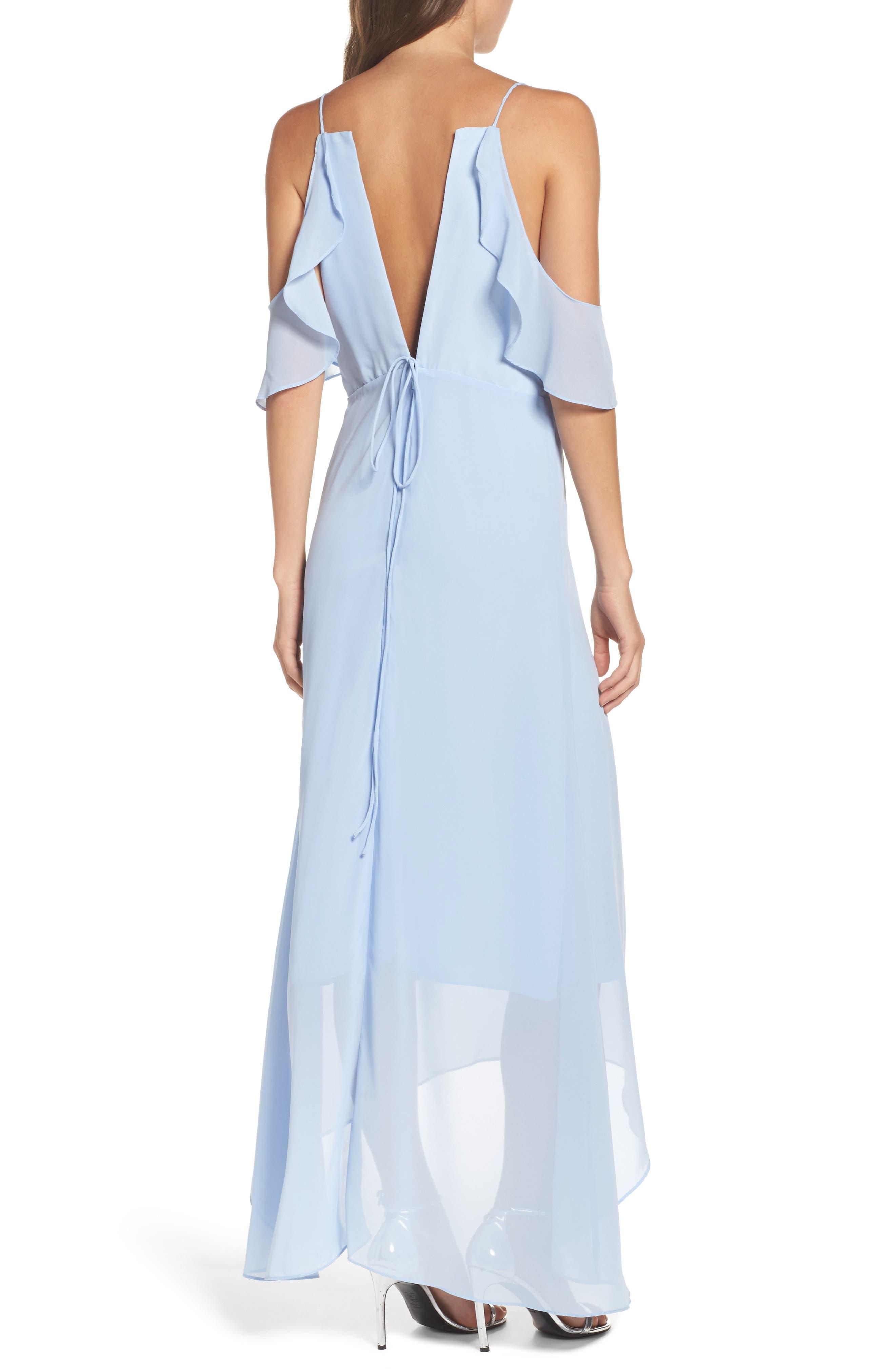 Cold Shoulder Maxi Dress,                             Alternate thumbnail 2, color,                             400