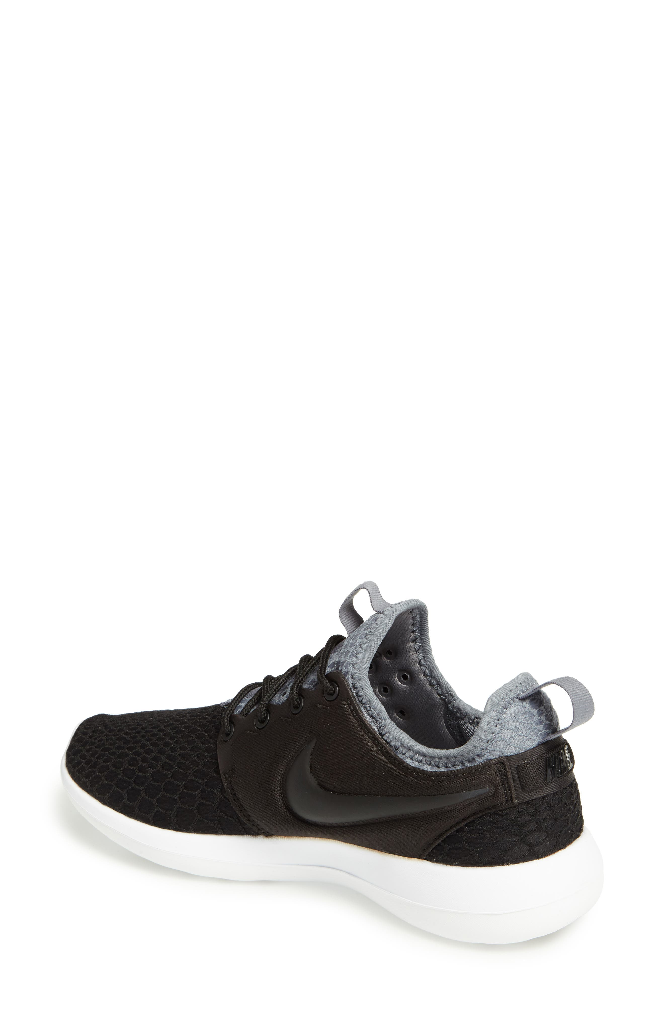 Roshe Two SE Sneaker,                             Alternate thumbnail 2, color,                             001