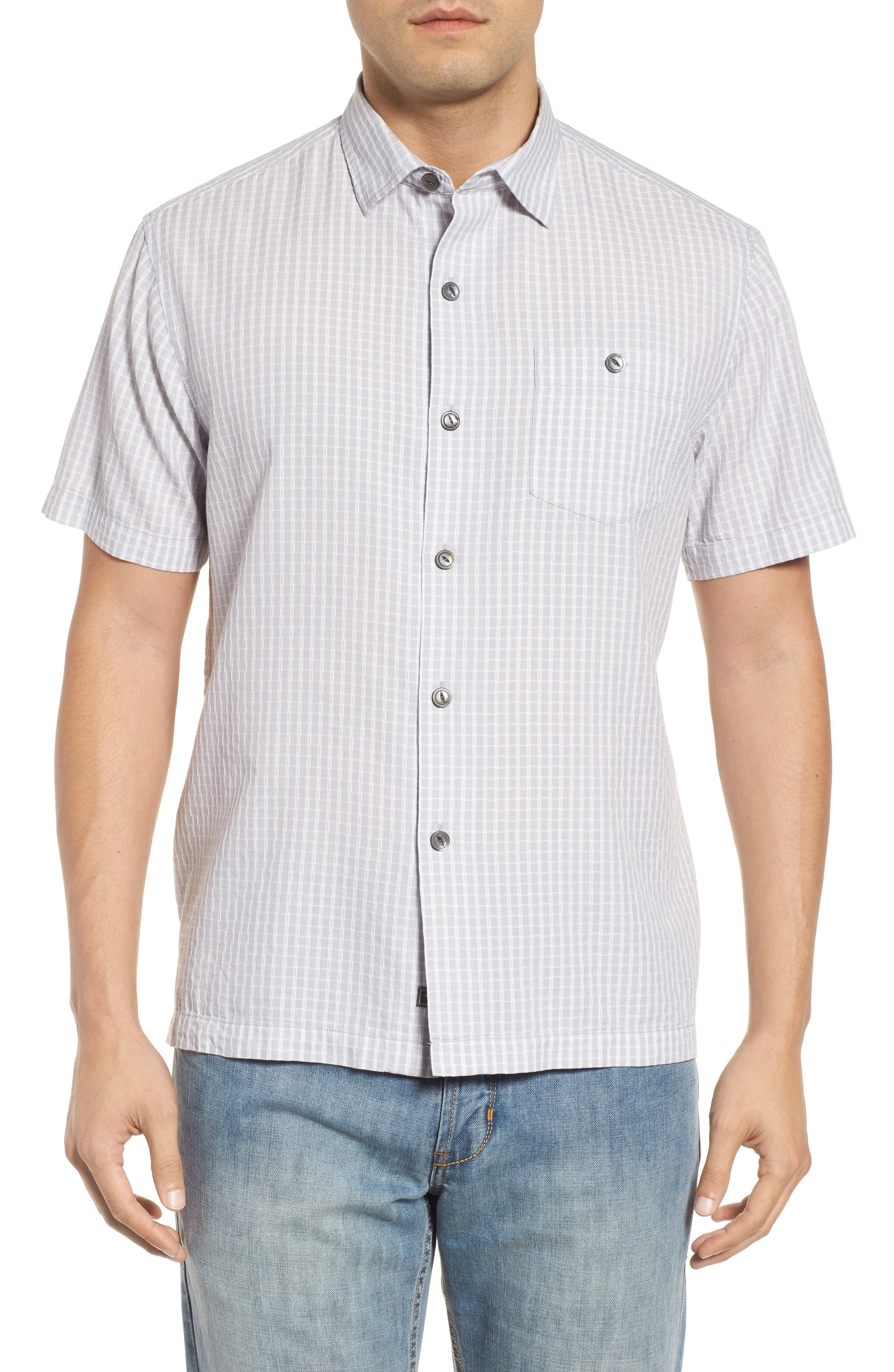 Once in a Tile Regular Fit Sport Shirt,                         Main,                         color, 050