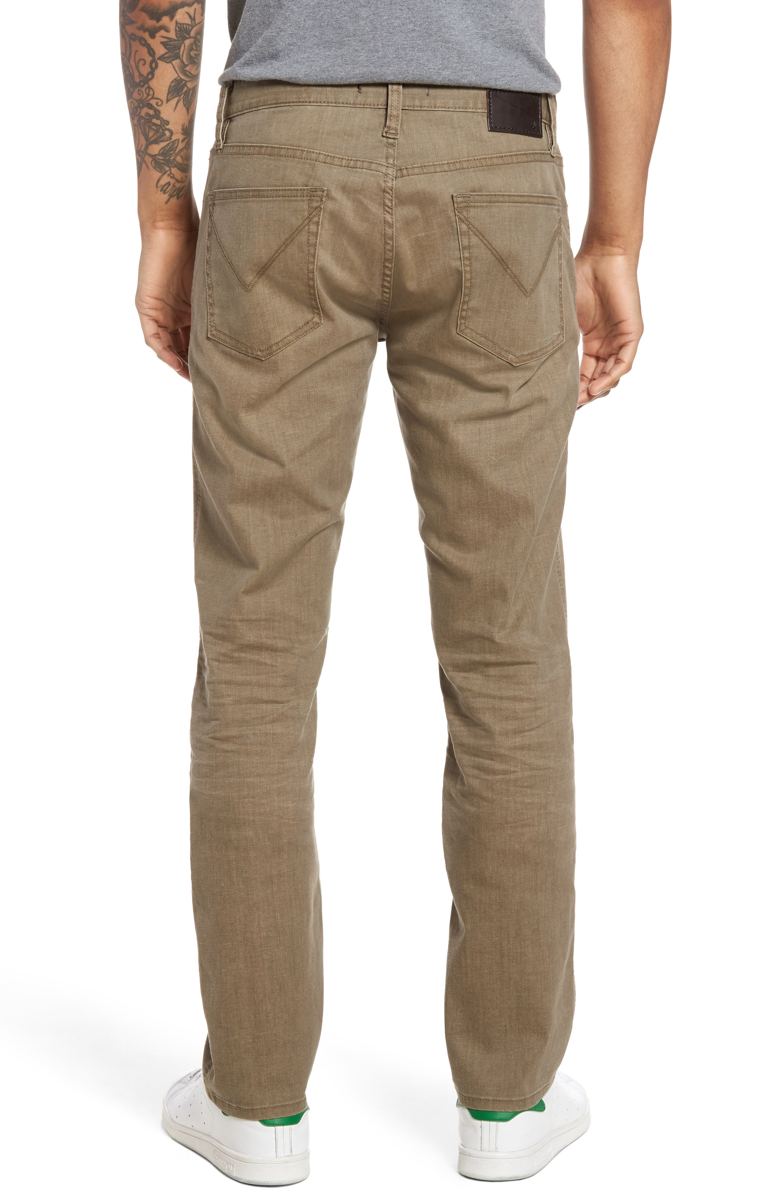 Bowery Slim Straight Leg Jeans,                             Alternate thumbnail 6, color,