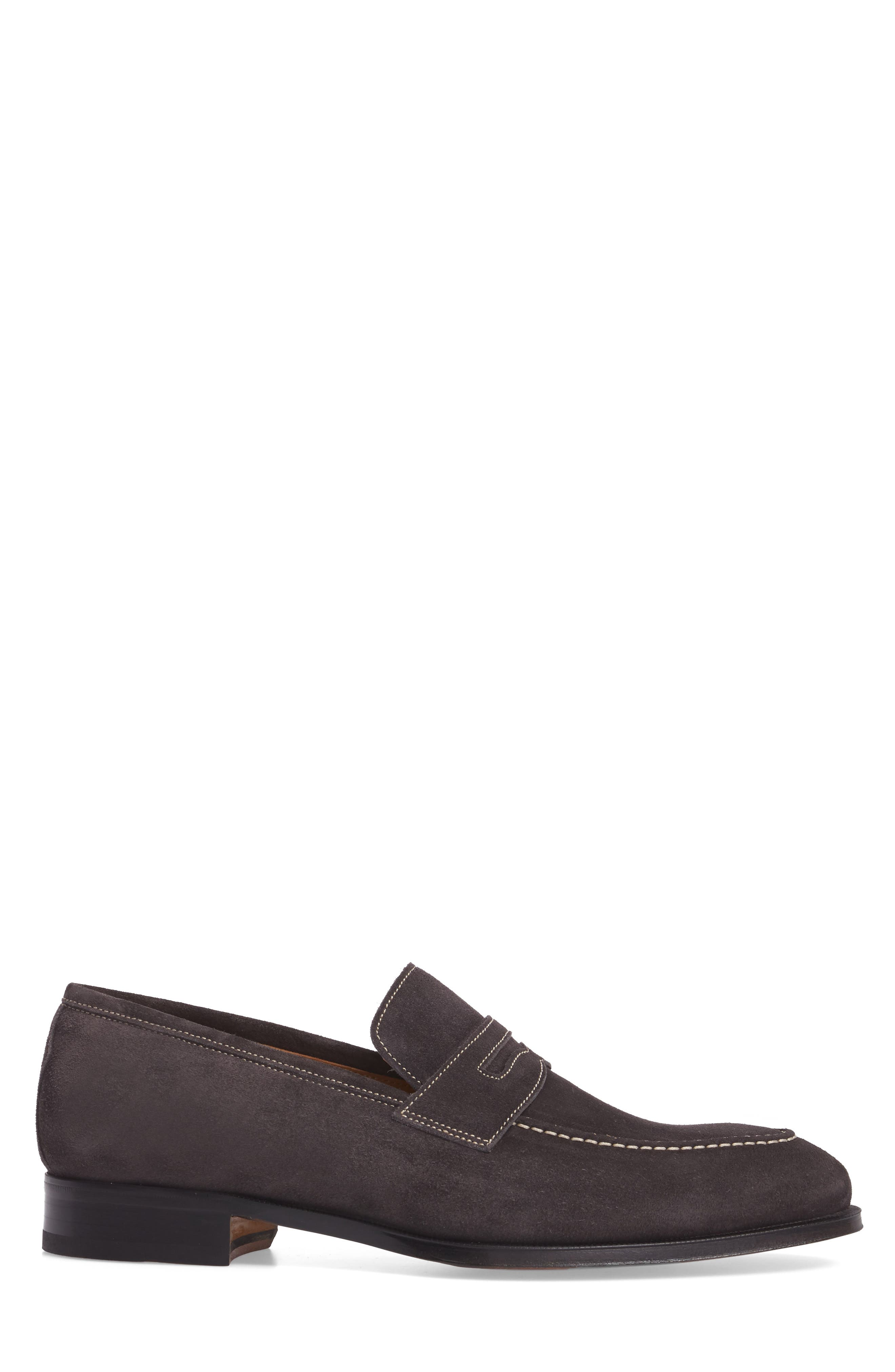 Leather Penny Loafer,                             Alternate thumbnail 11, color,