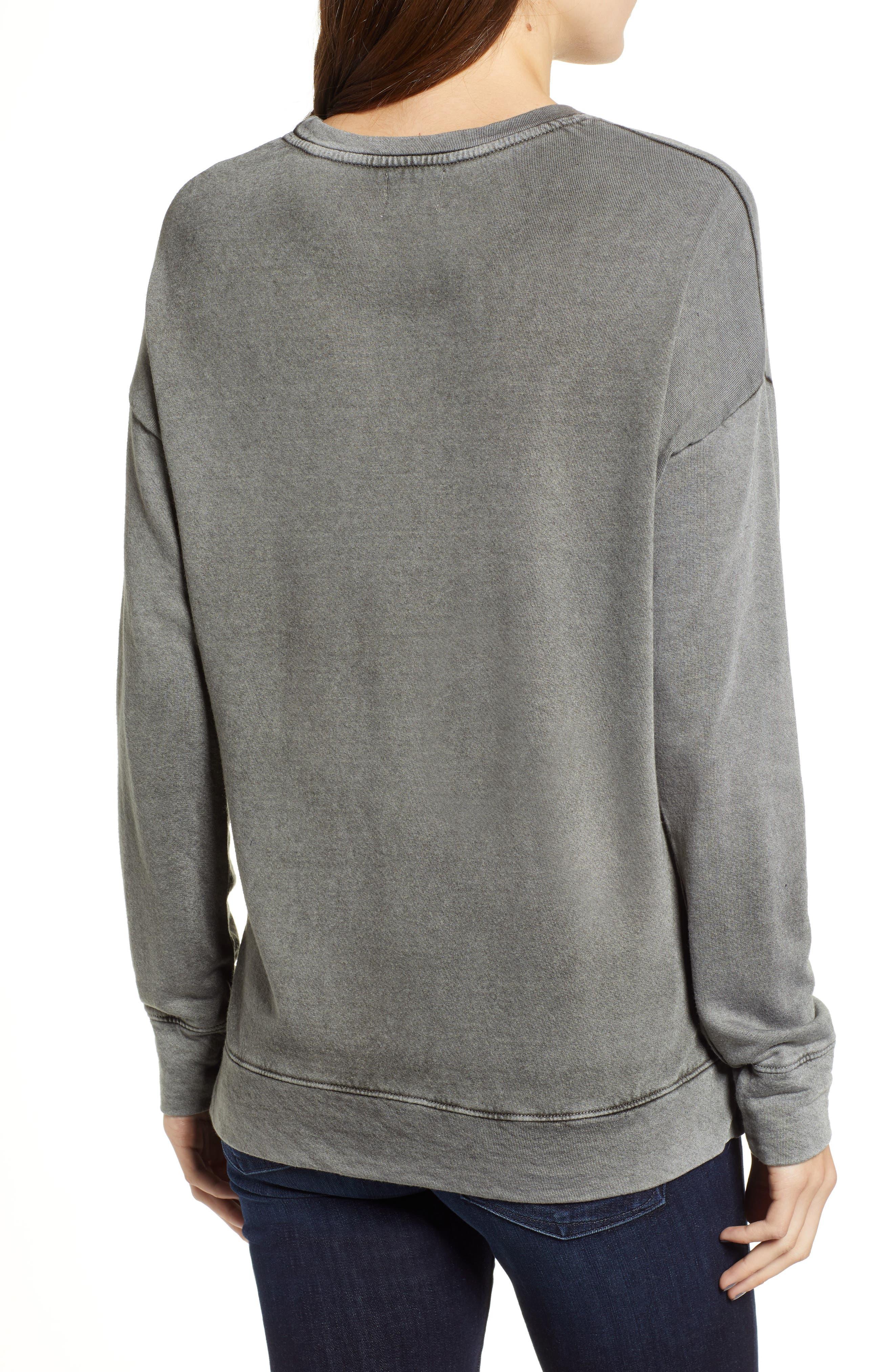 Honey Faded Sweatshirt,                             Alternate thumbnail 2, color,                             300