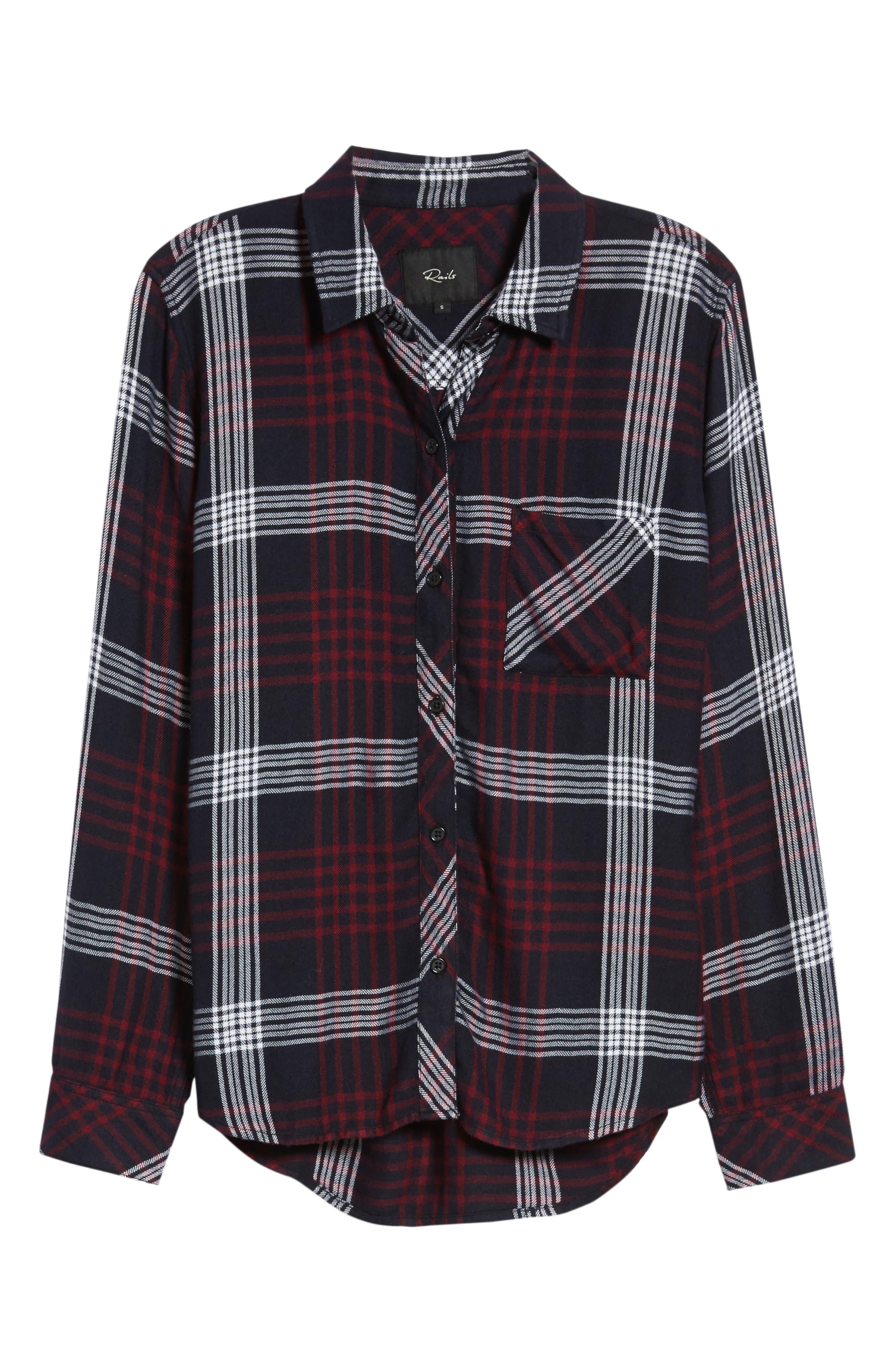 Hunter Plaid Shirt,                             Alternate thumbnail 718, color,