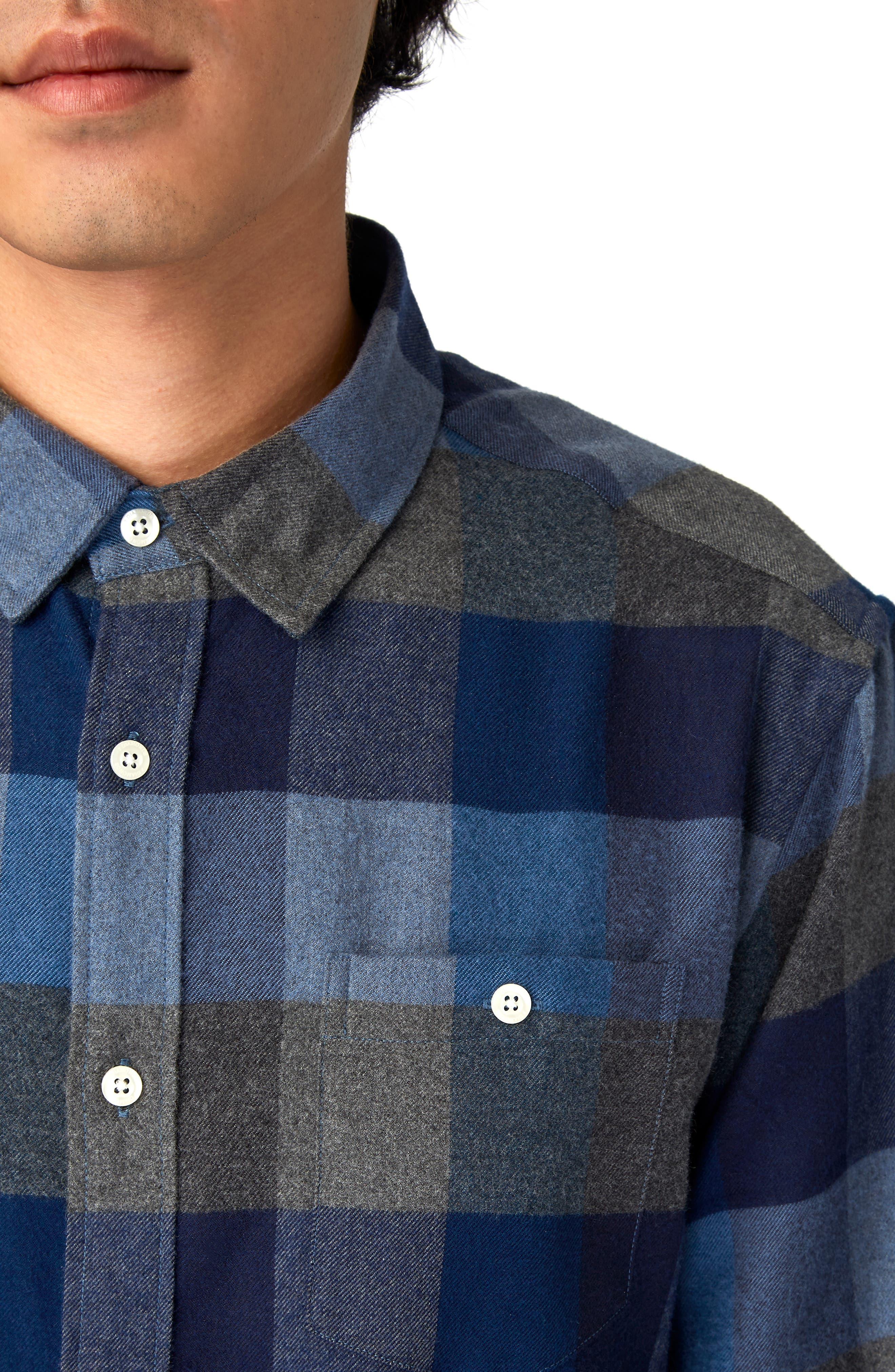 Cypress Check Sport Shirt,                             Alternate thumbnail 2, color,                             410