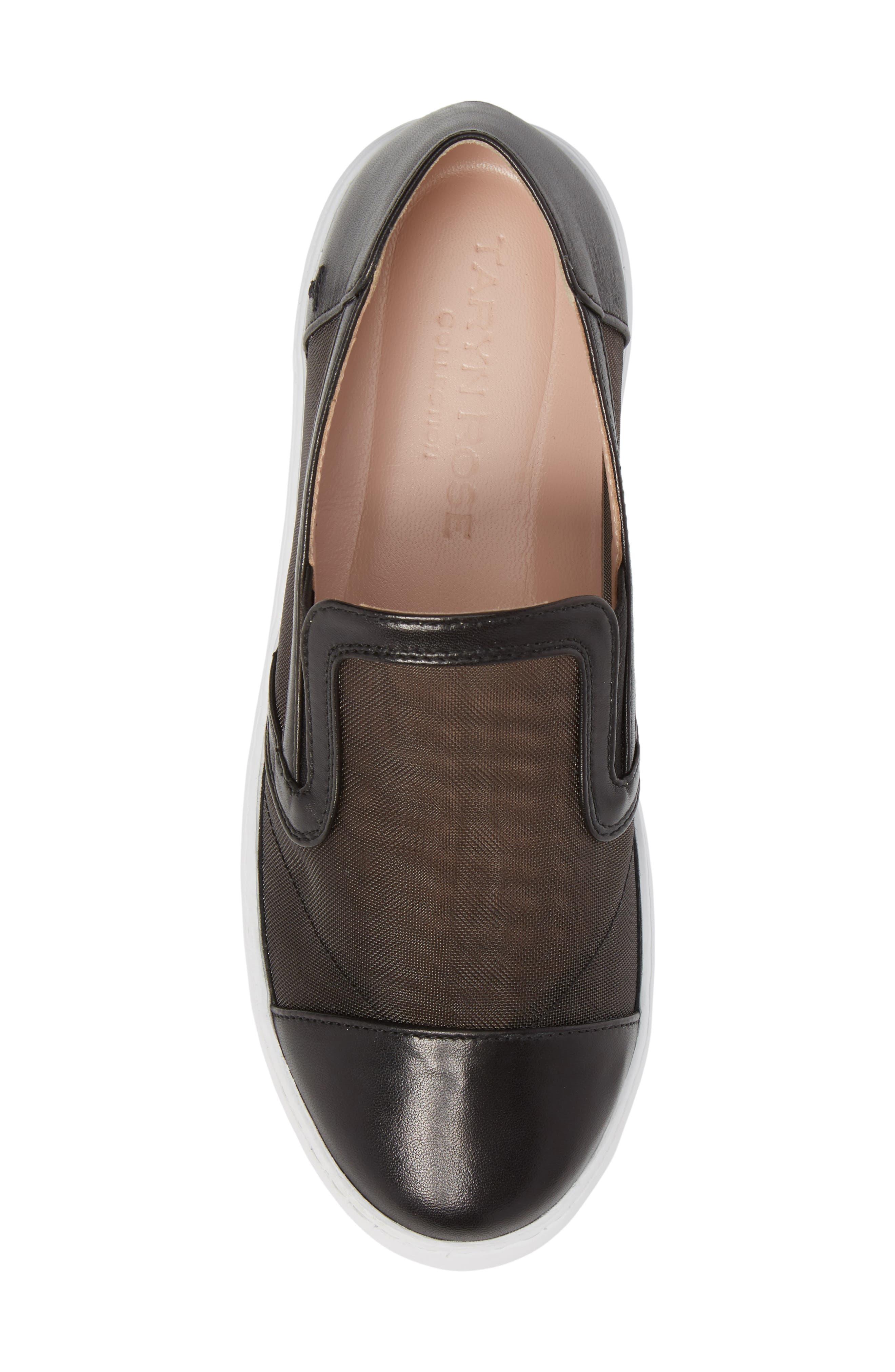 Taryn Rose Calandra Slip-On Sneaker,                             Alternate thumbnail 5, color,                             004