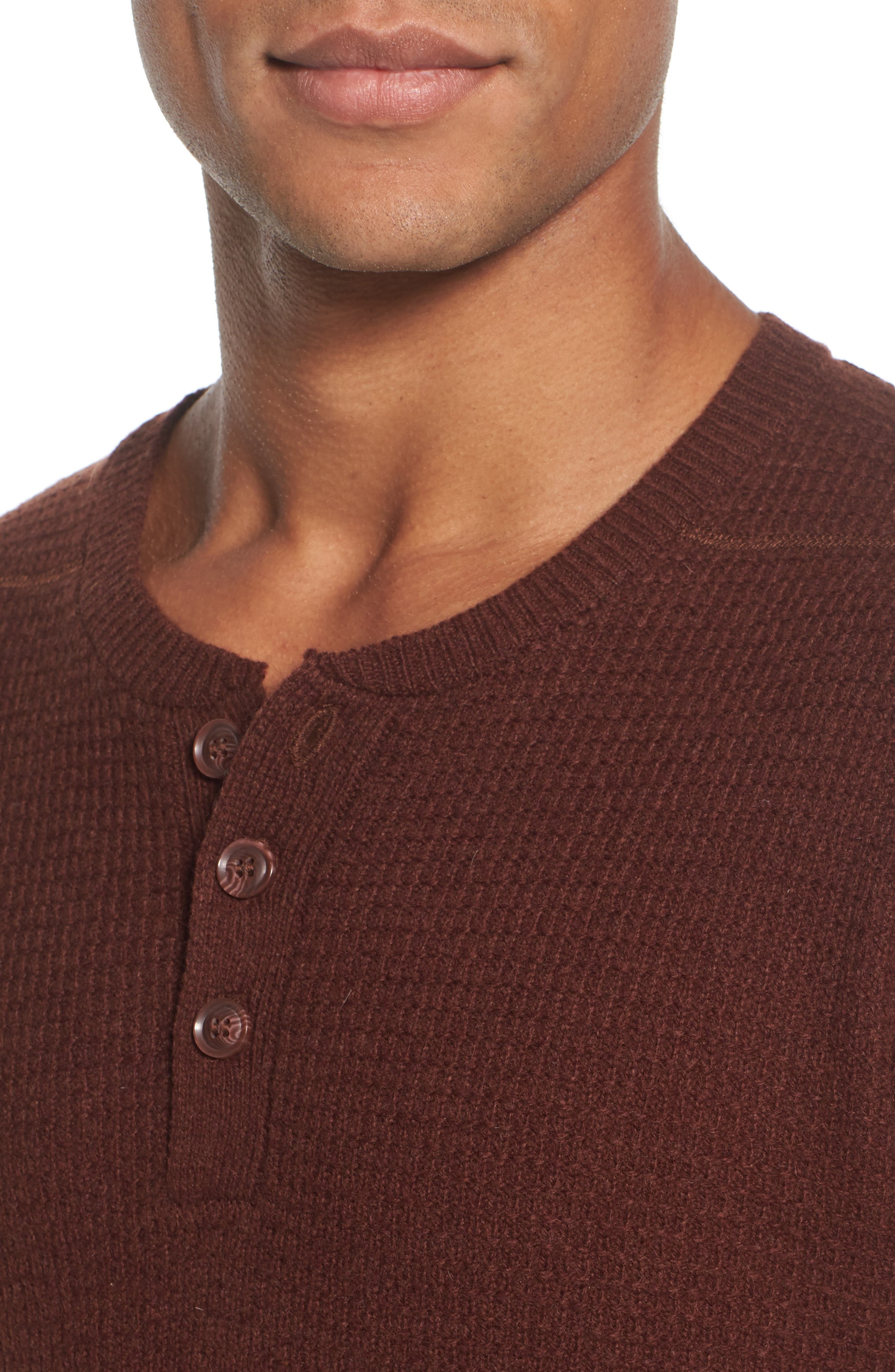 Thermal Henley,                             Alternate thumbnail 24, color,