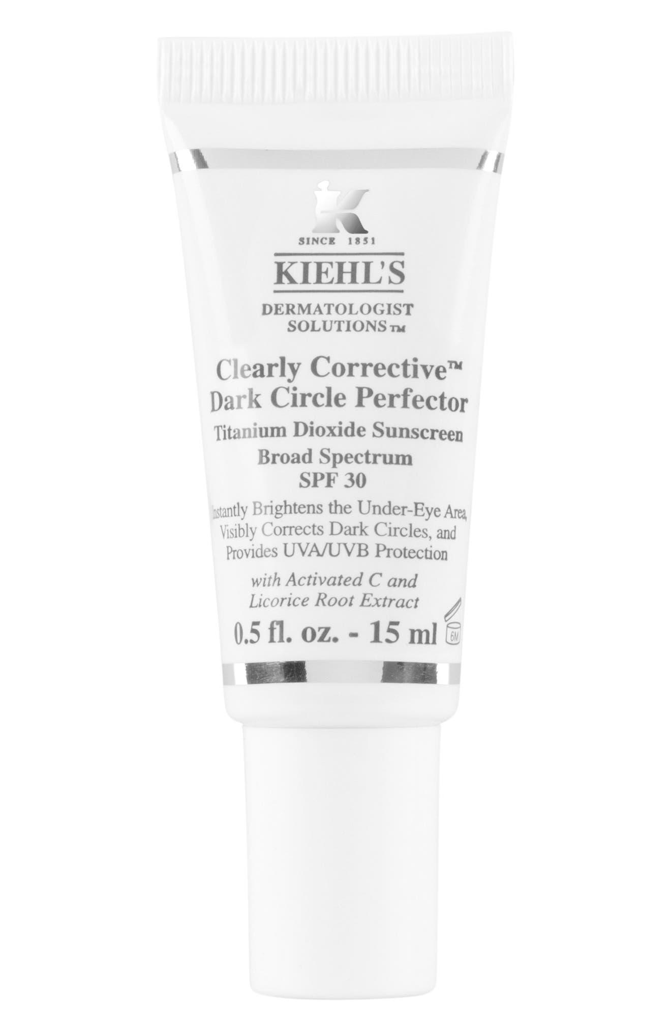 'Clearly Corrective<sup>™</sup>'Dark Circle Perfector SPF 30, Main, color, 000