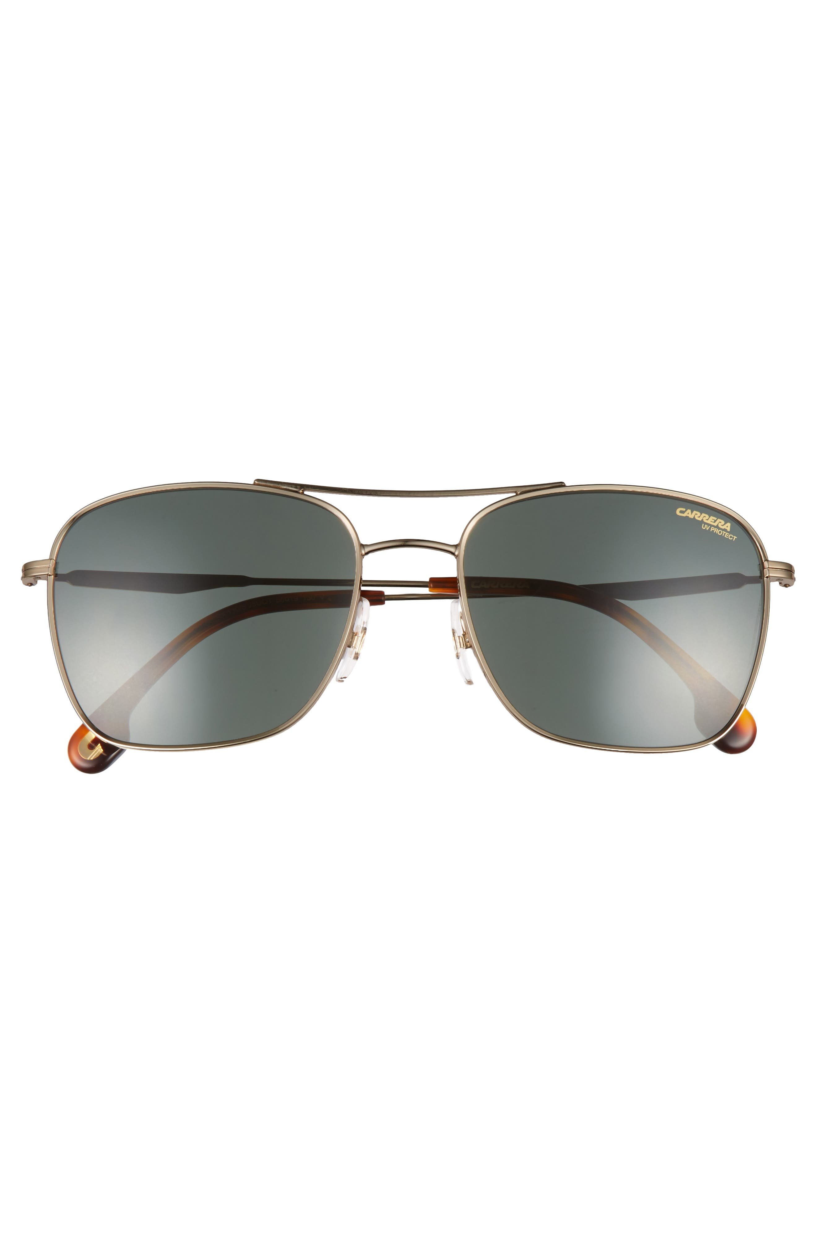 58mm Navigator Sunglasses,                             Alternate thumbnail 3, color,
