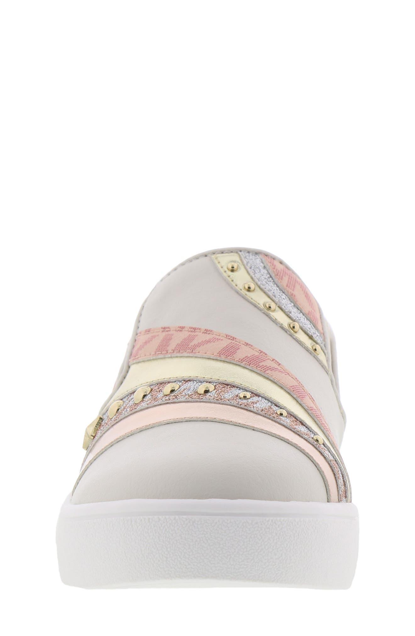 Jem Starlight Slip-On Sneaker,                             Alternate thumbnail 4, color,                             VANILLA