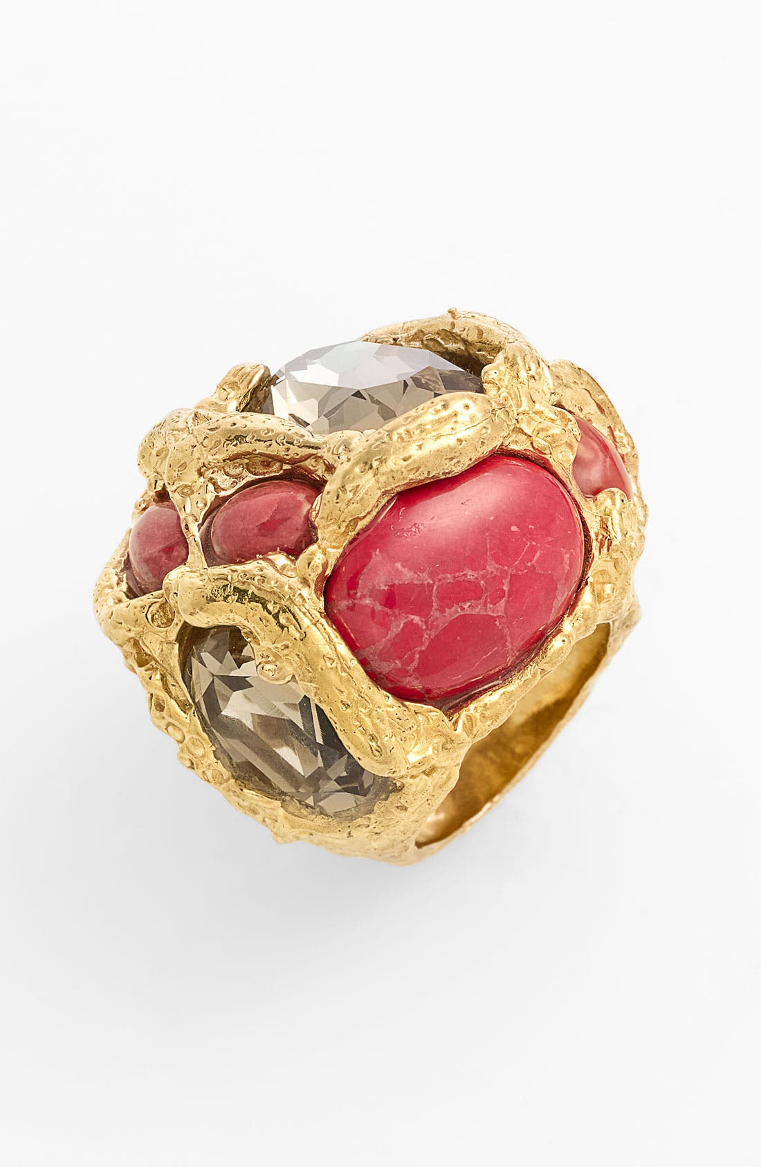 ALEXIS BITTAR,                             'Otto' Encrusted Ring,                             Main thumbnail 1, color,                             710
