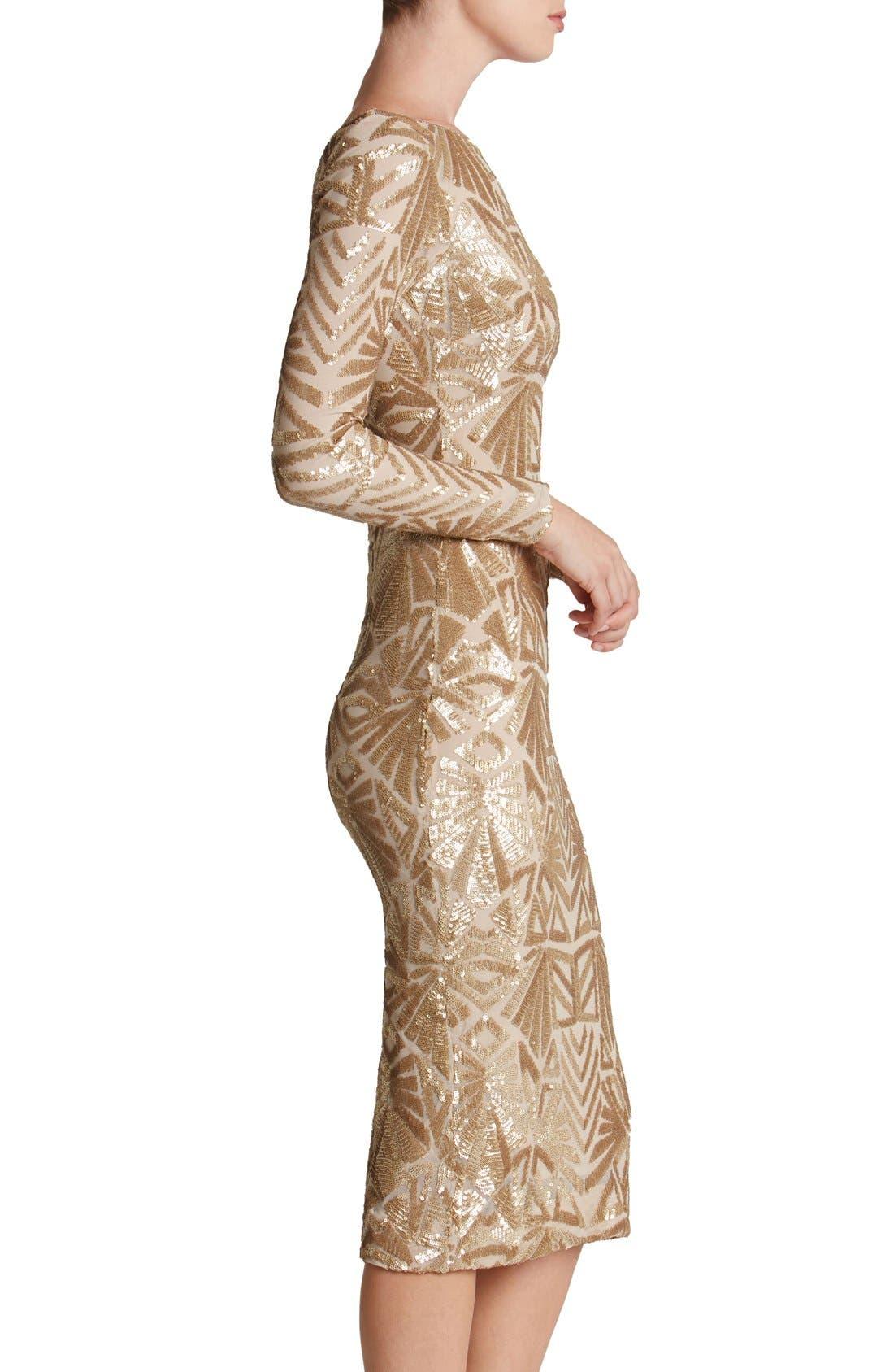 Emery Midi Dress,                             Alternate thumbnail 21, color,