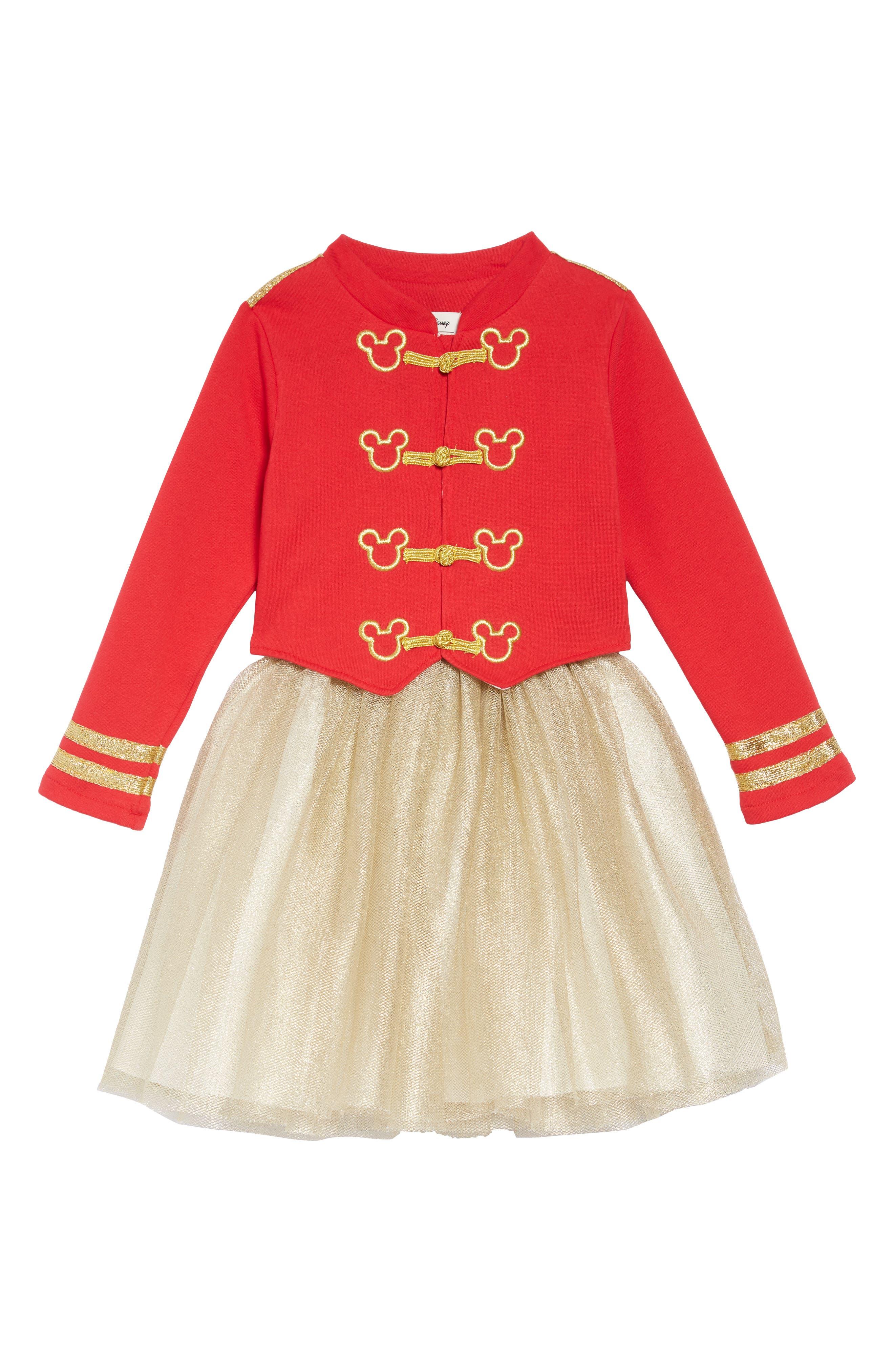 PIPPA & JULIE x Disney<sup>®</sup> Mickey Mouse<sup>®</sup> Majorette Jacket & Tank Dress Set, Main, color, 643